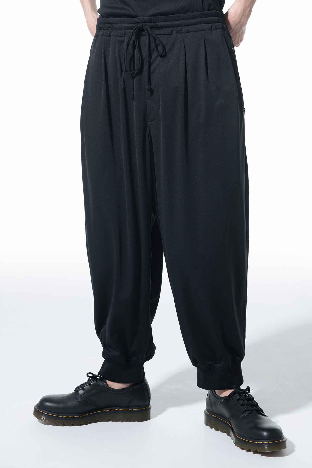 Thin Smooth Jersey Three Tack Rib Pants