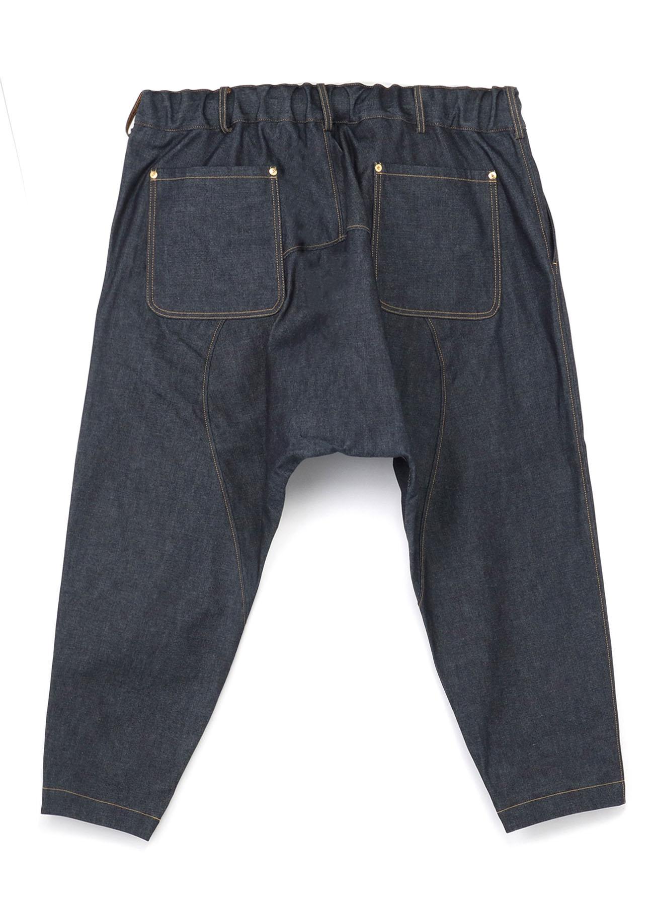 10 oz Denim Stitch Work Sarouel Tapered pants
