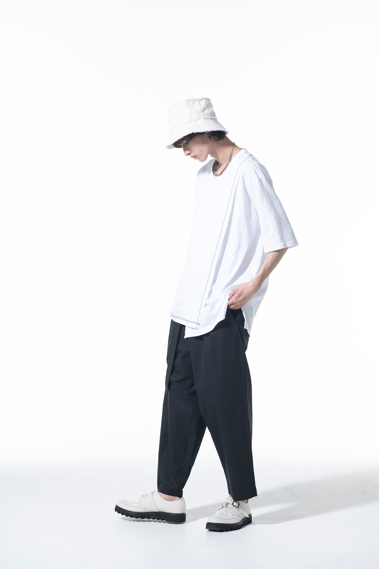 40/2 Cotton Jersey Crew Neck Half-Layered ColorLock Short Sleeve T-Shirt