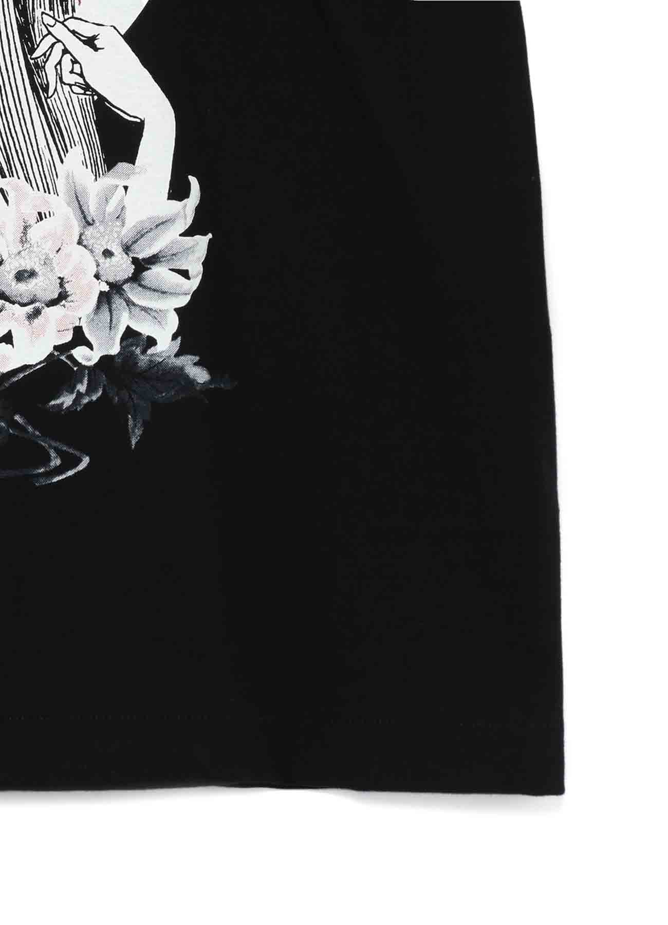 """""""Tomie"""" Blood and Poppy Flowers T-shirt"""