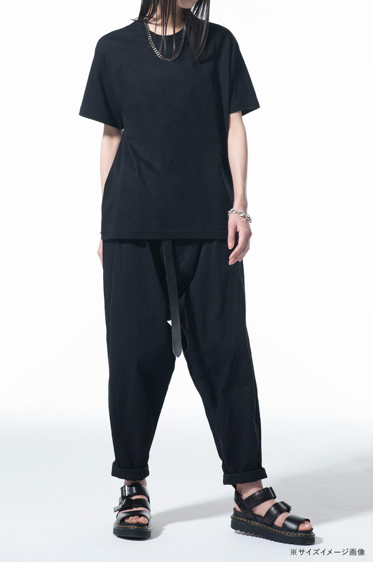 """【7/22(木) 12:00発売】""""Tomie"""" Wearing Yohji Yamamoto Lace-up Dress T-shirt"""