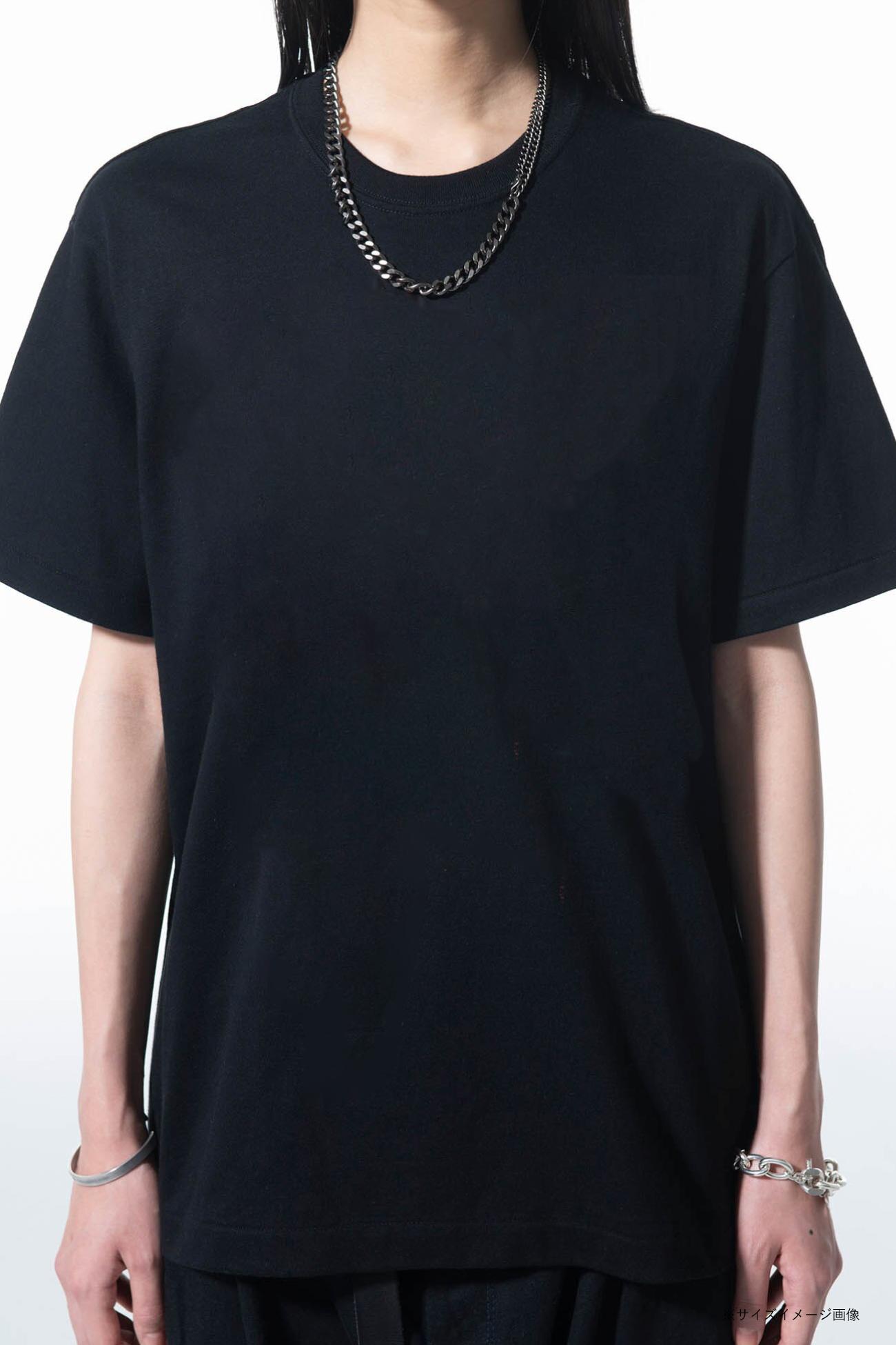 20/Cotton Jersey Black Dove T-Shirt