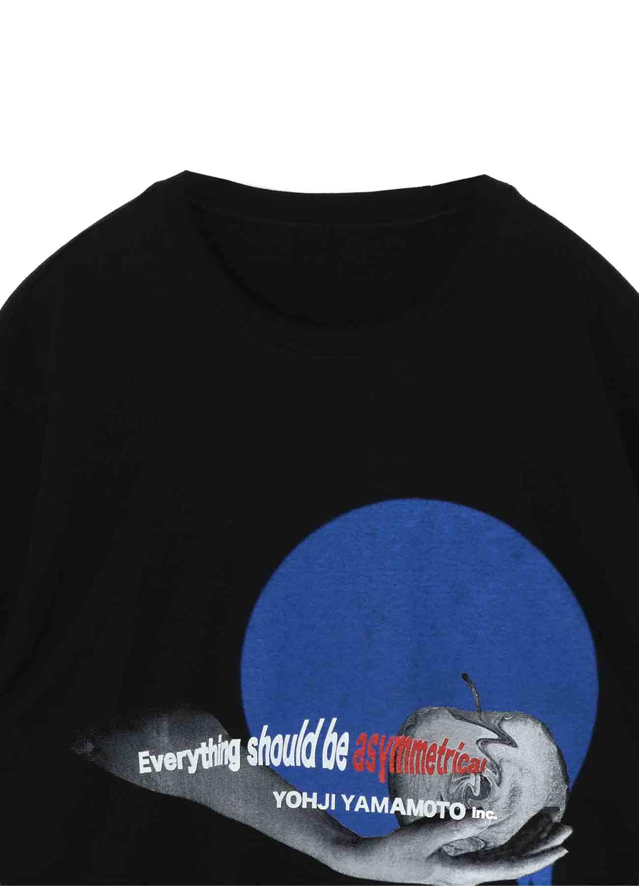20/Cotton Jersey Asymmetric Apple T-Shirt