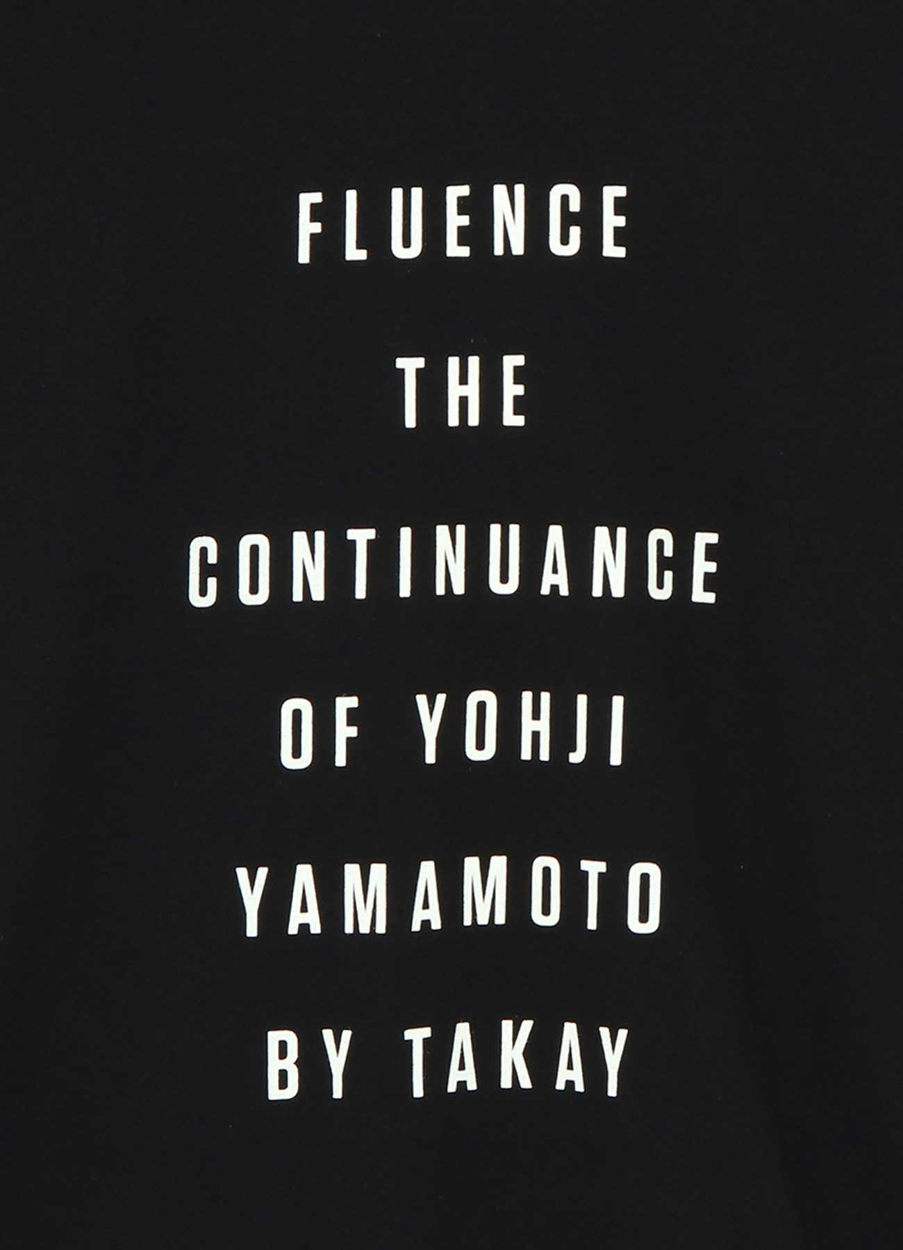 S'YTE × Fluence Collaboration T-shirt <LILY FRANKY>