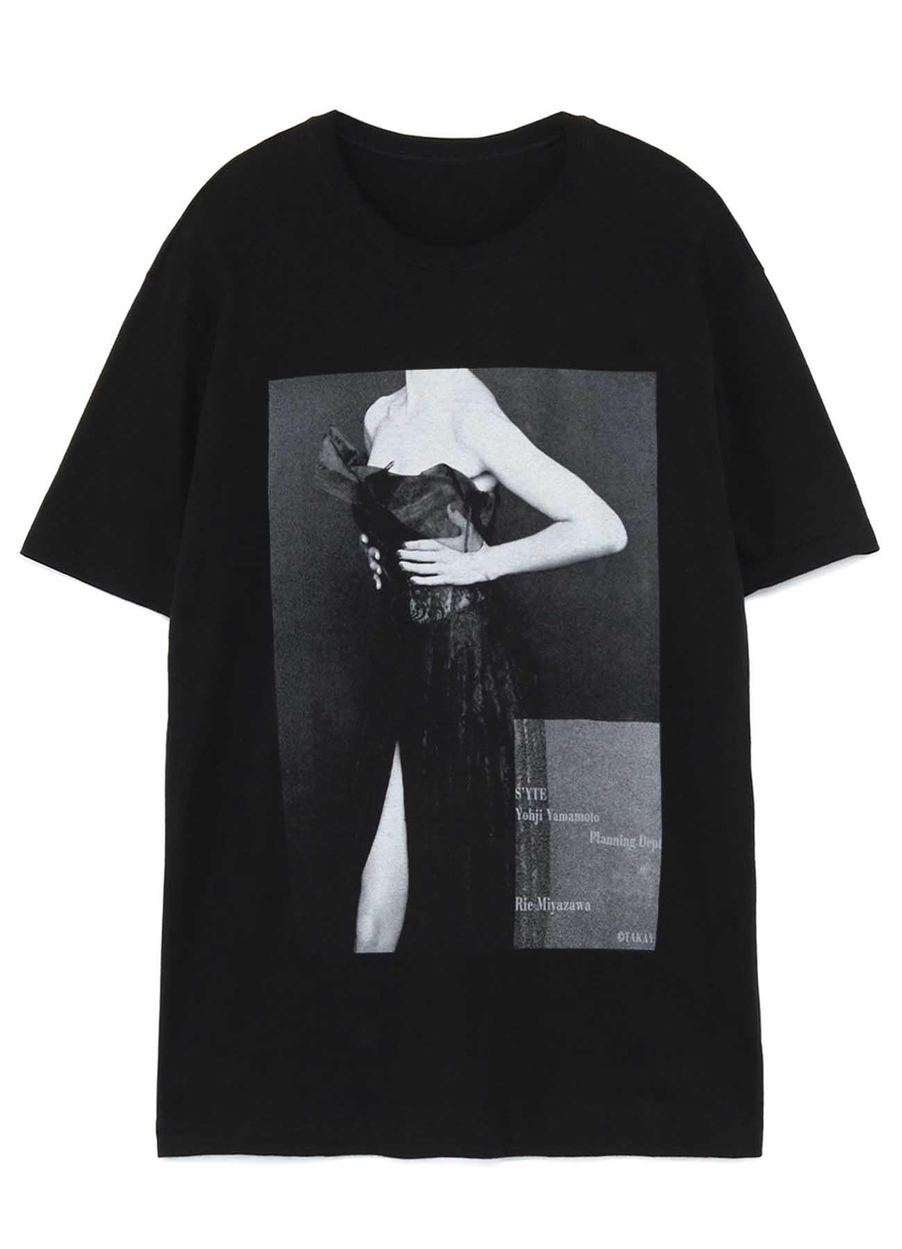 S'YTE × Fluence Collaboration T-shirt <RIE MIYAZAWA>