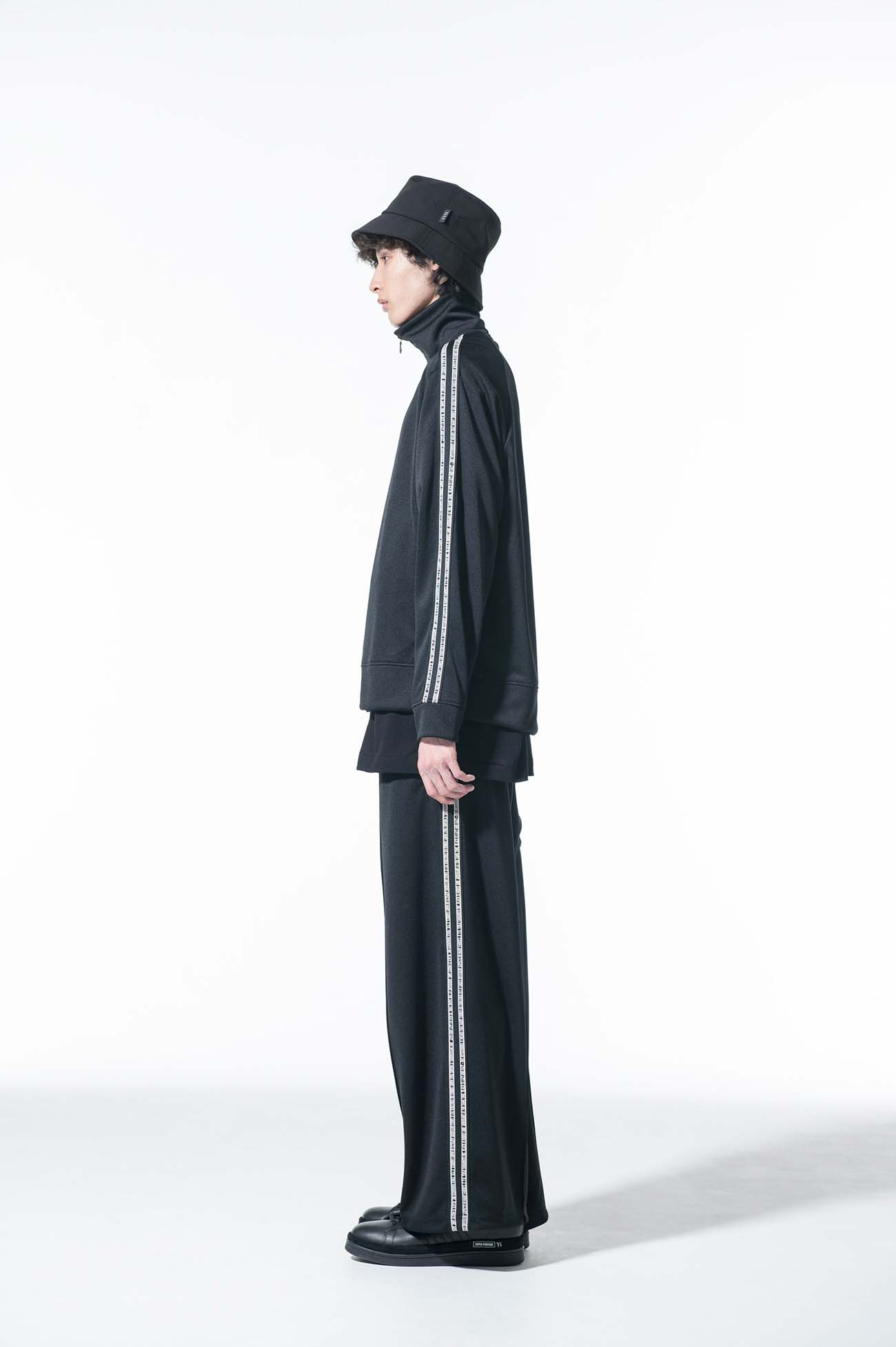 Pe/Smooth Jersey Message Side Tape Track Jacket