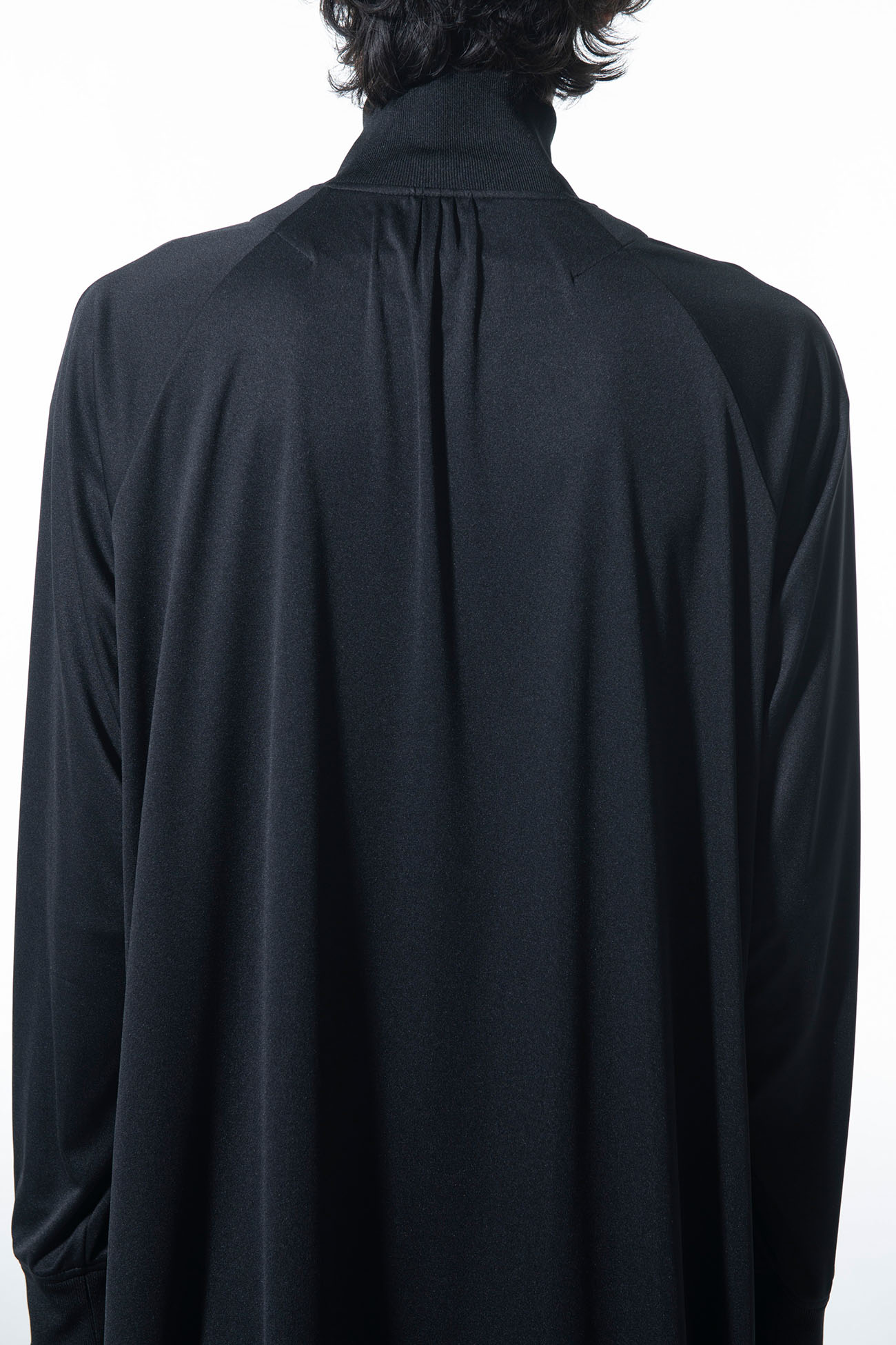 Thin Smooth Jersey Long Tail Track Jacket