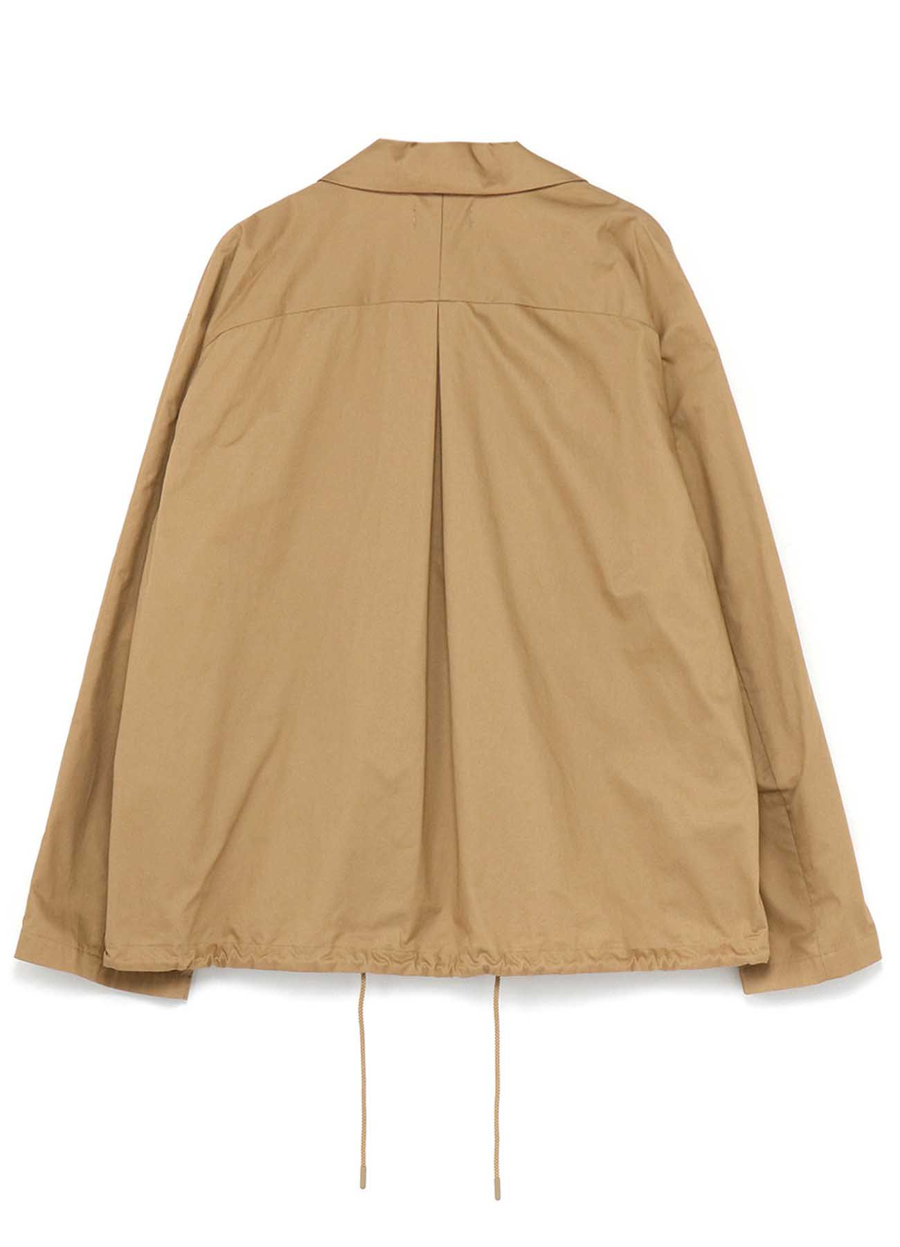 Cotton Twill Fly Front Double Pocket Blouson