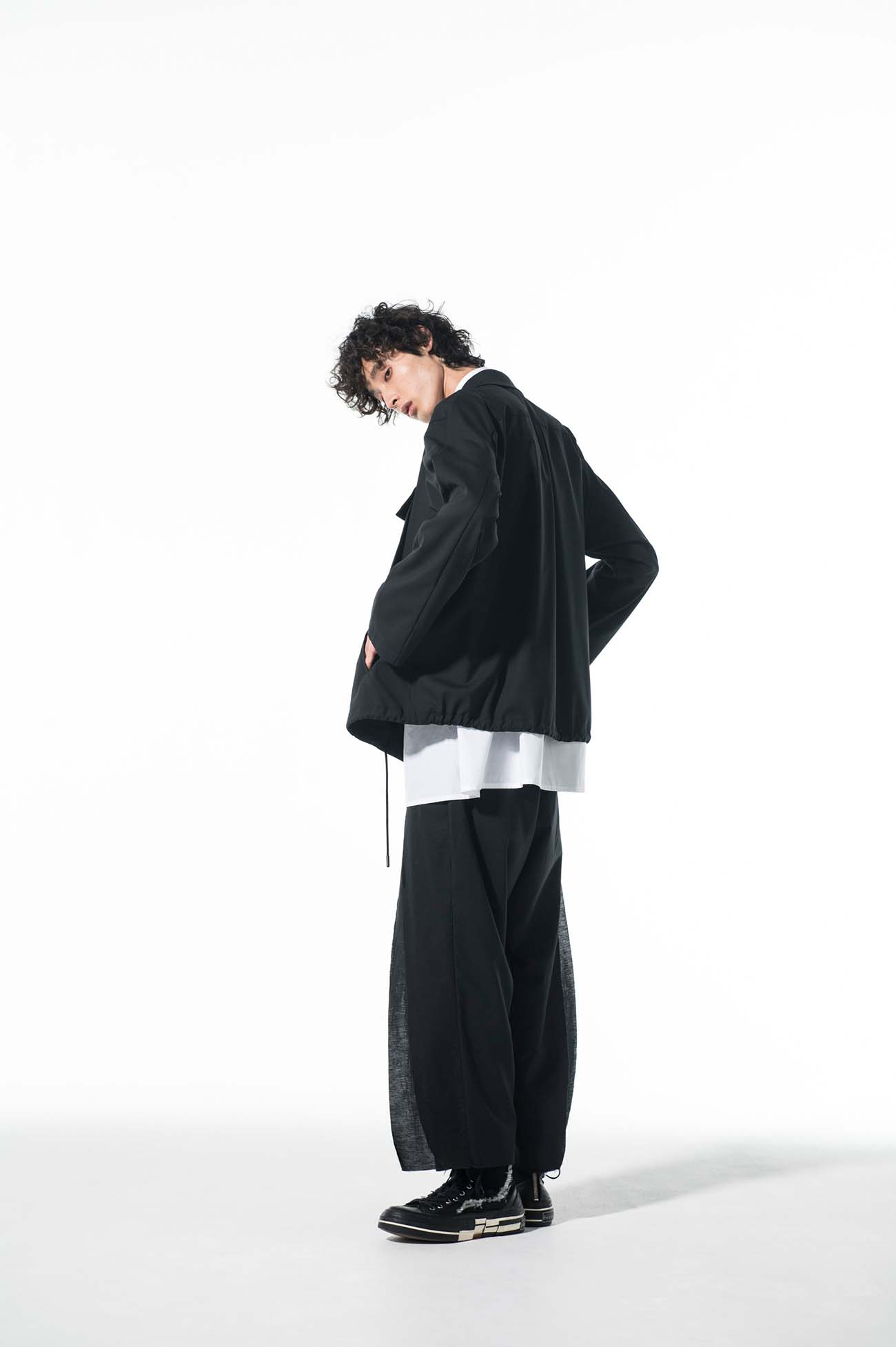 T/W Tropical Fly Front Double Pocket Blouson