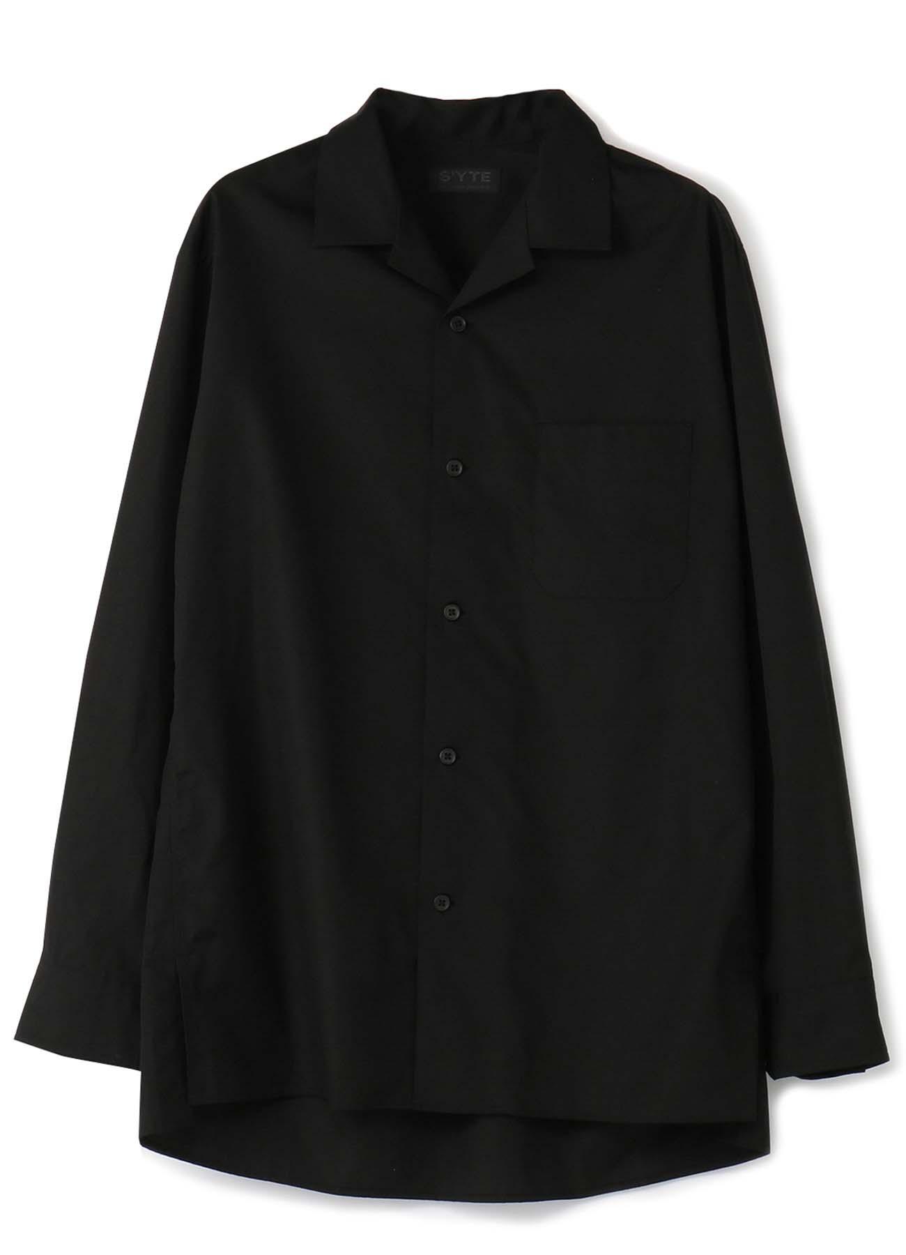 100/2细平纹开领衬衫