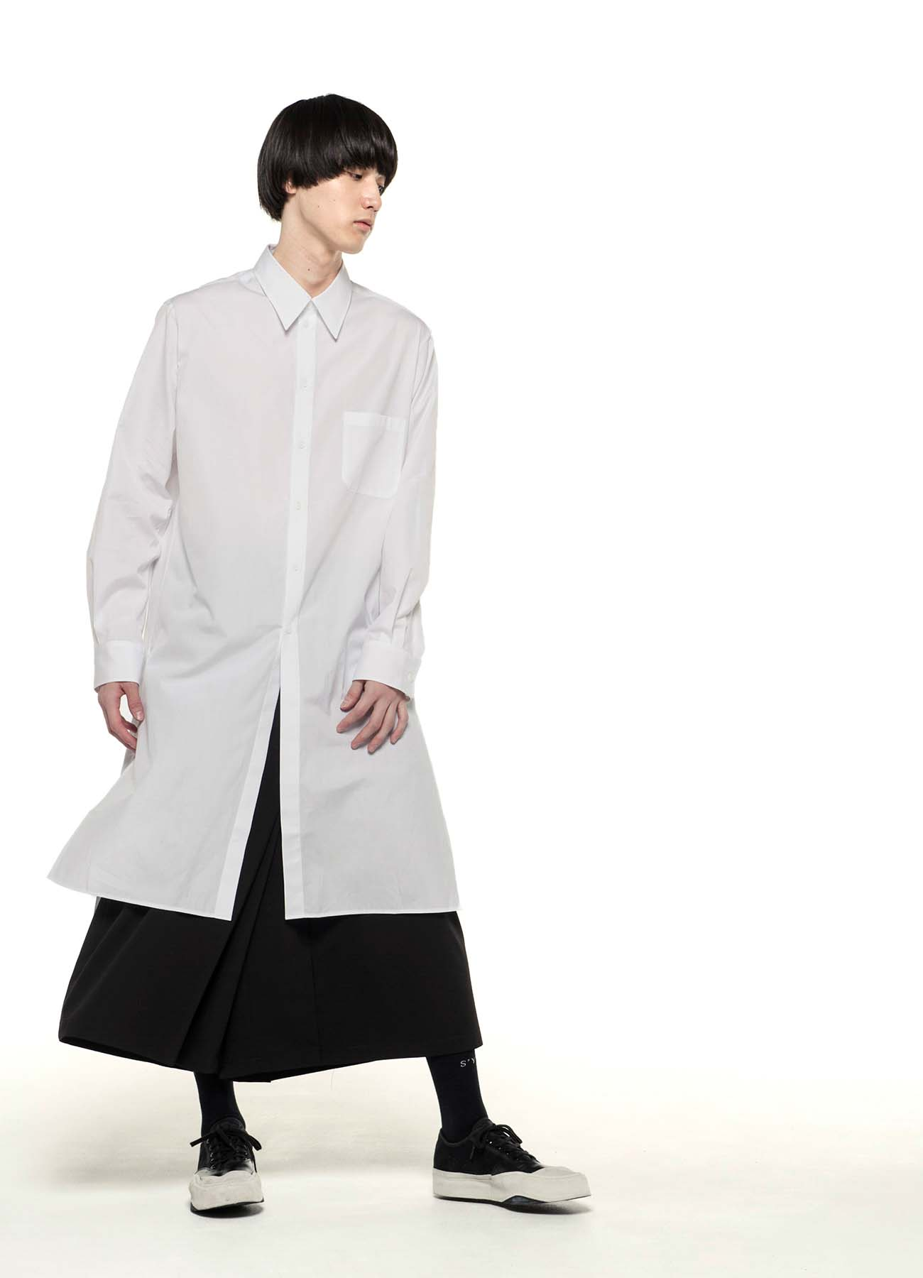 100/2 Broad Regular Collar Long Shirt