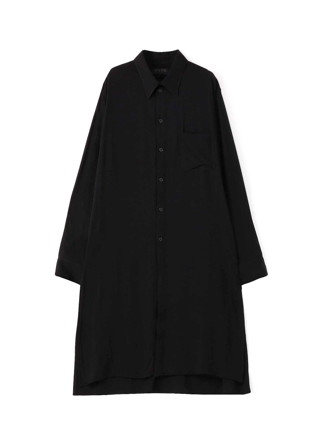 60s Ry/Span Twill Washer Regular Long Shirt