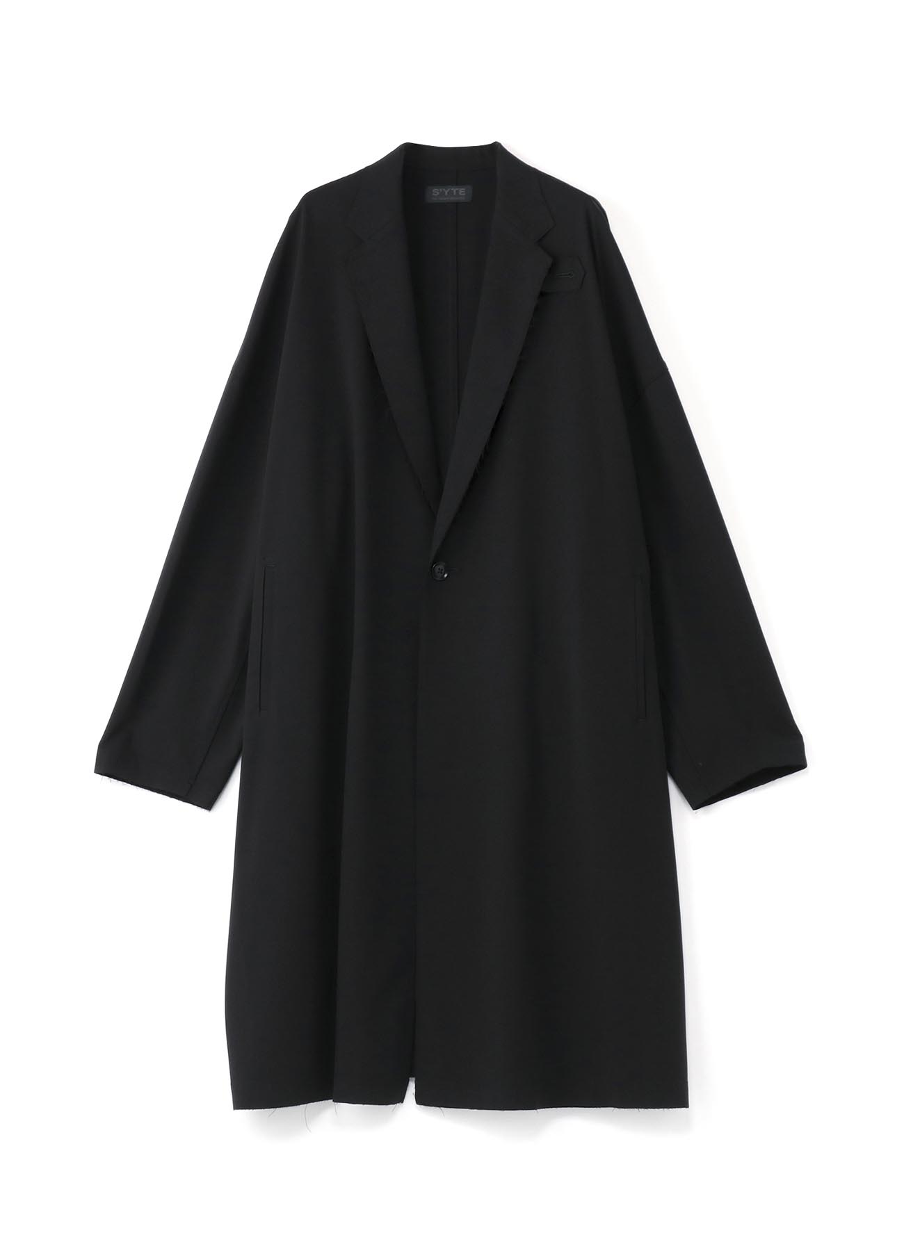 Pe/Rayon Gabardine Stretch Big Chester Coat