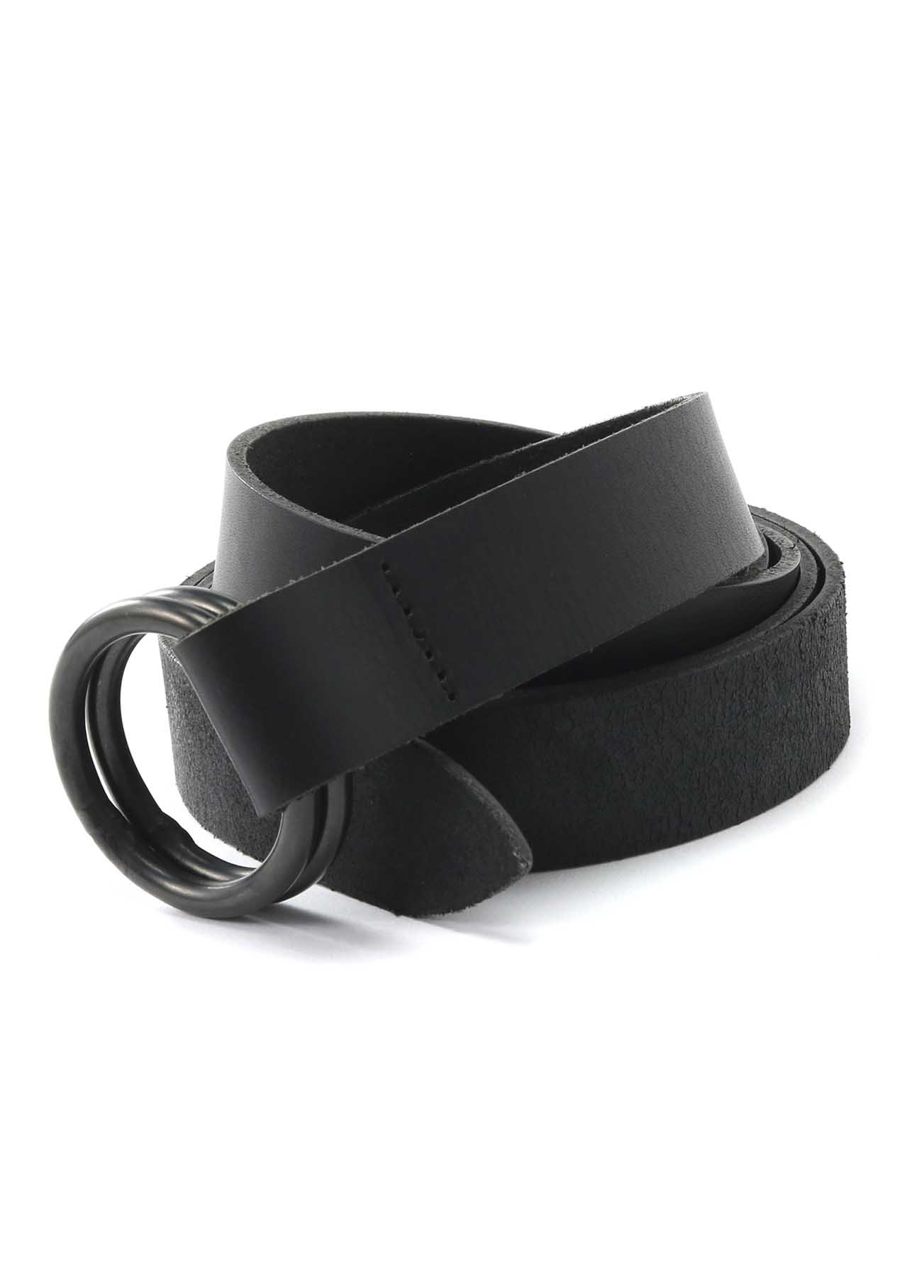 Cow Leather25mm Long Ring Belt