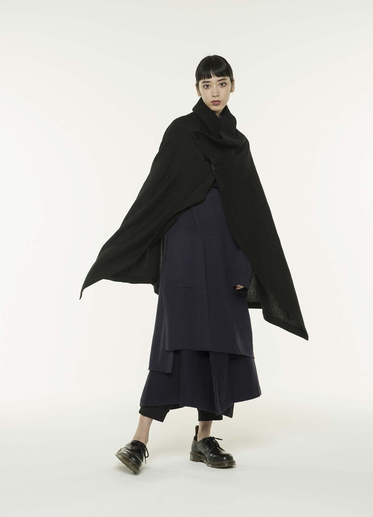 Queen's code 2WAY wrap skirt poncho