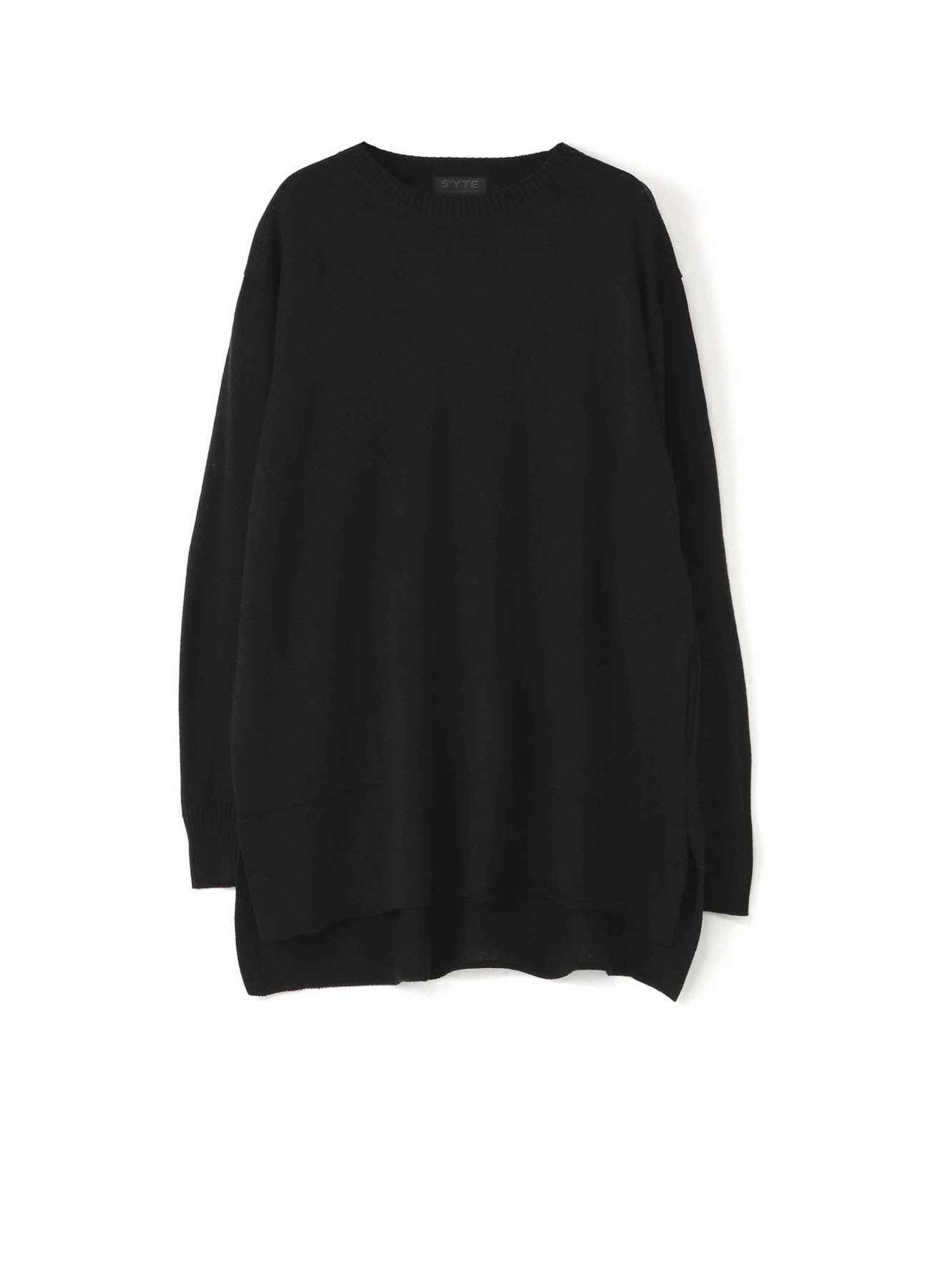 Queens code crew neck pocket pullover