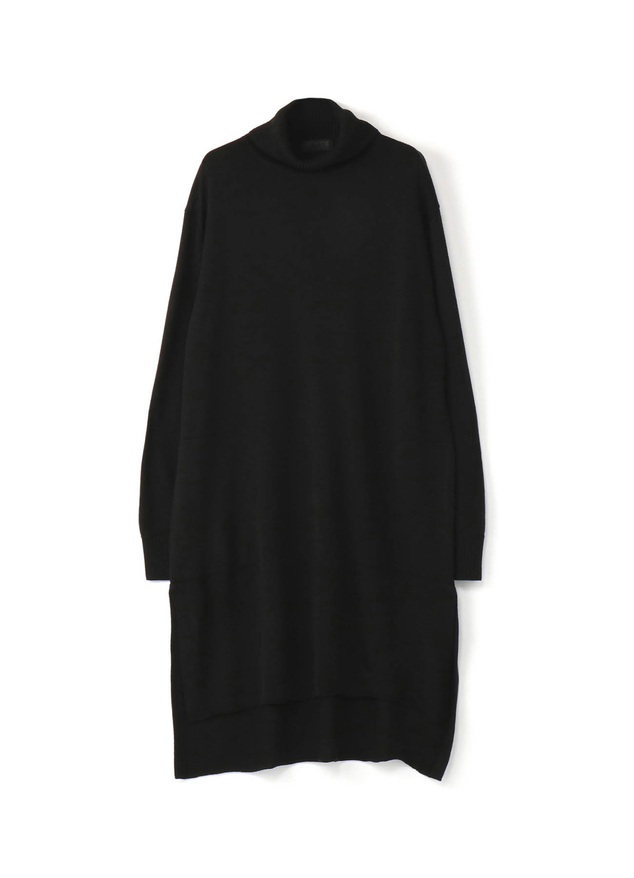 Queens code turtleneck pocket Long pullover