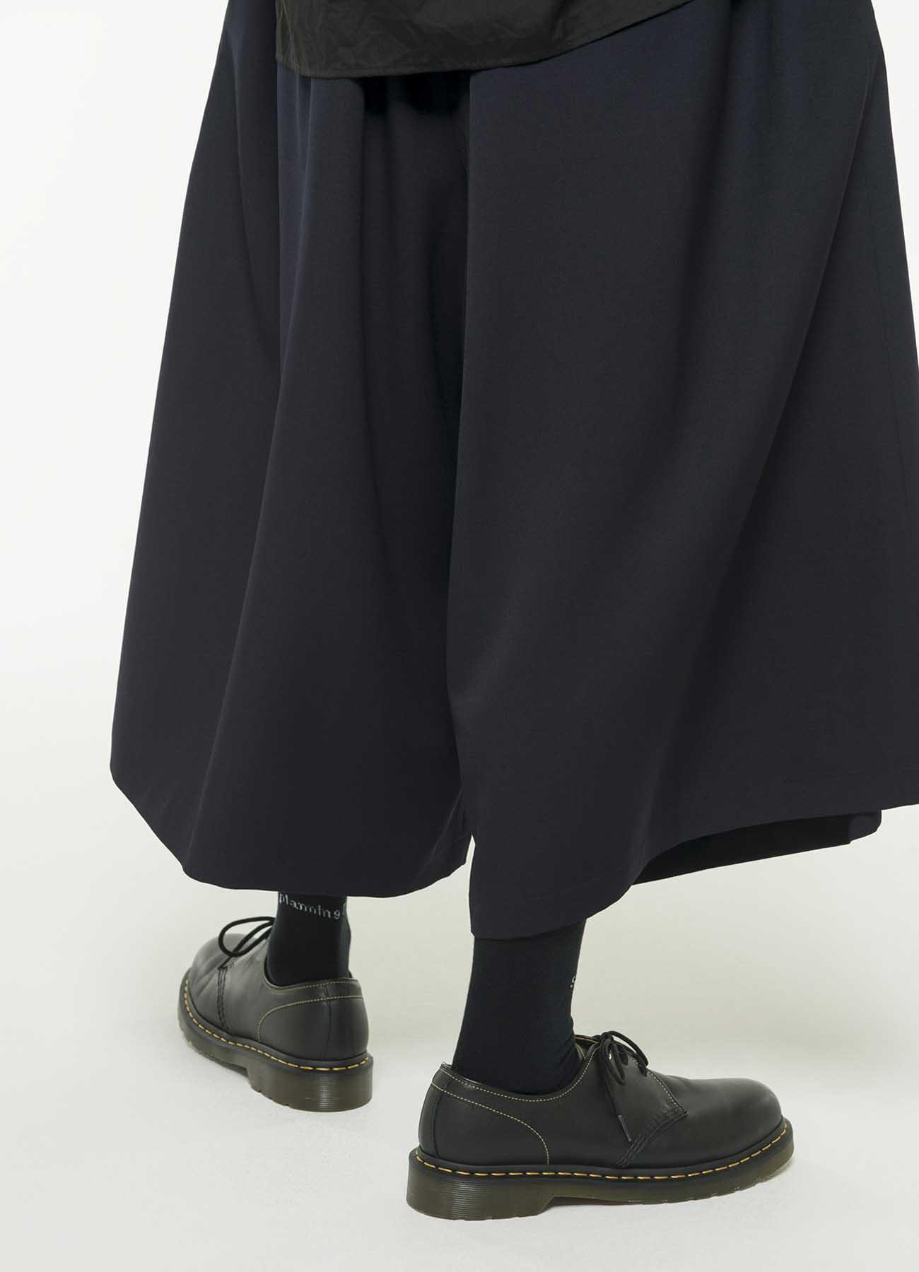羊毛轧别丁裙裤