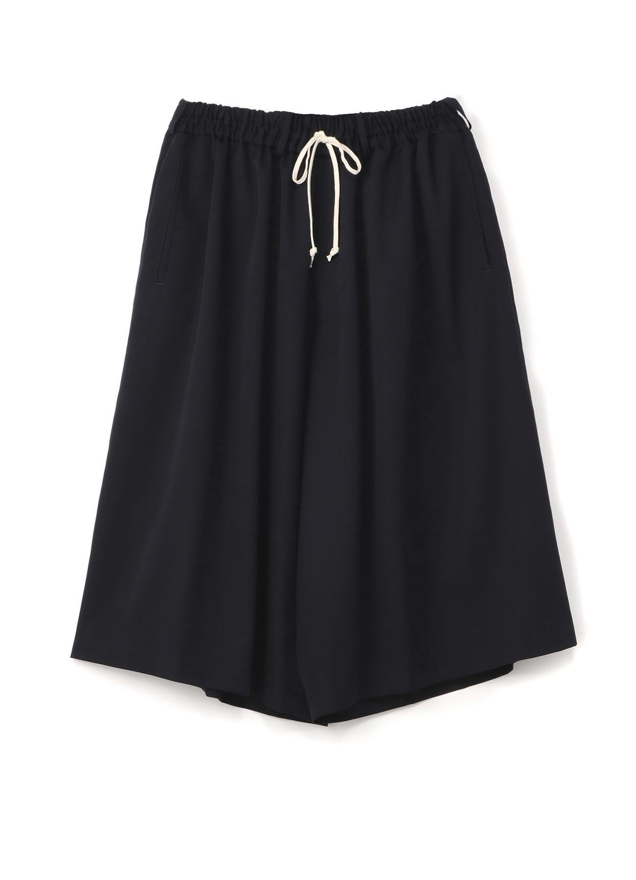Wool Gabardine Culotte Pants