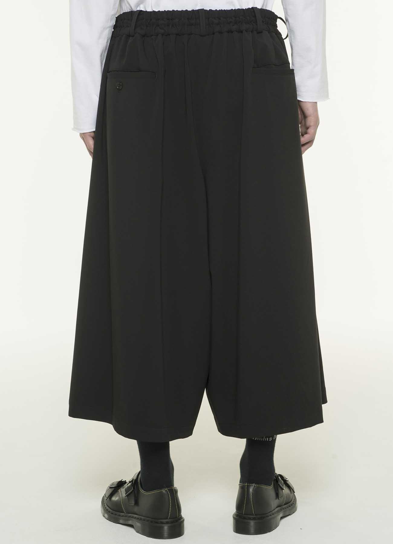 Pe/Rayon Gabardine Stretch Culotte Pants
