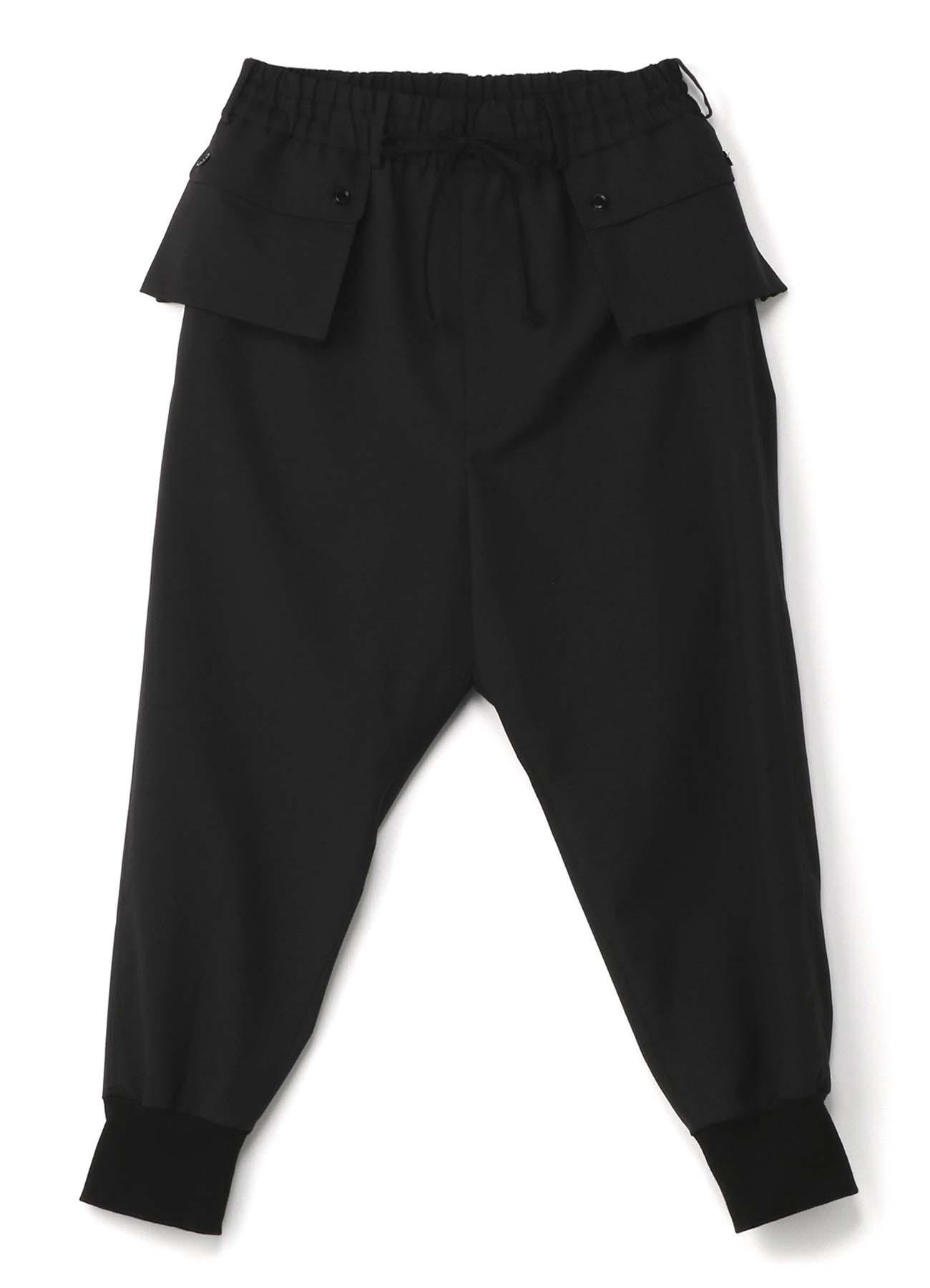 口袋运动裤