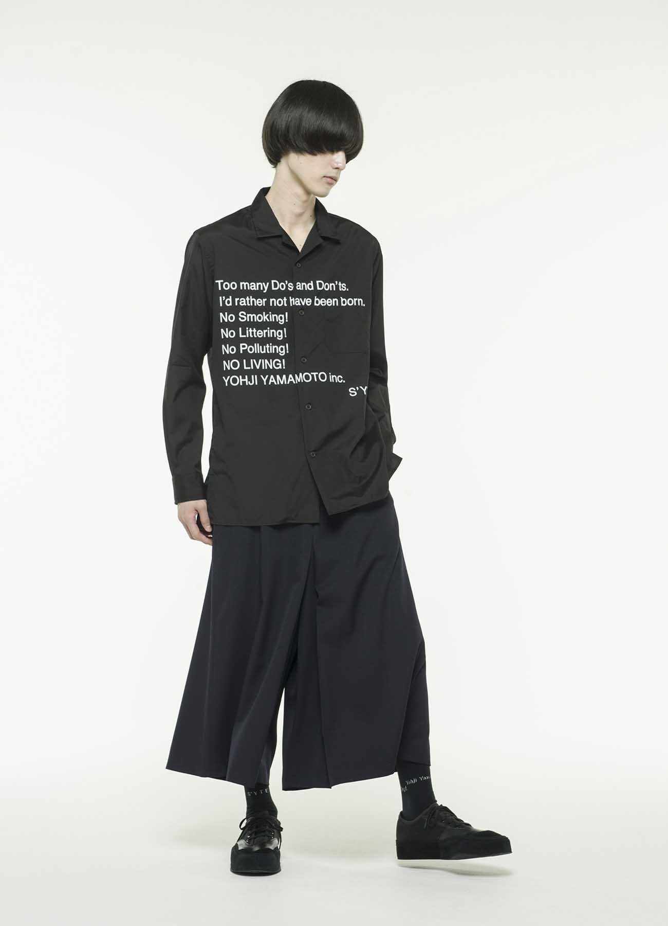 羊毛轧别丁袴裤