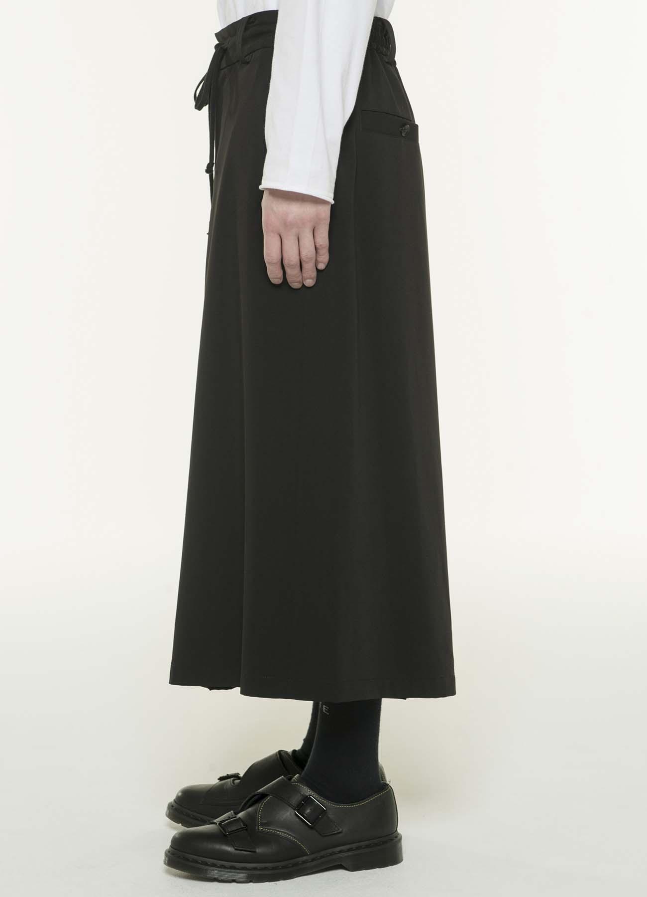 弹性和风袴阔腿裤