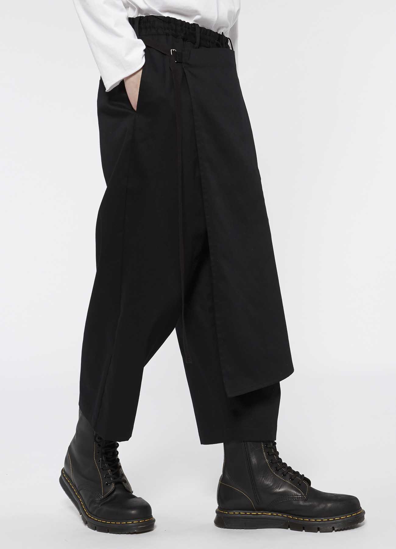 叠穿风九分裤