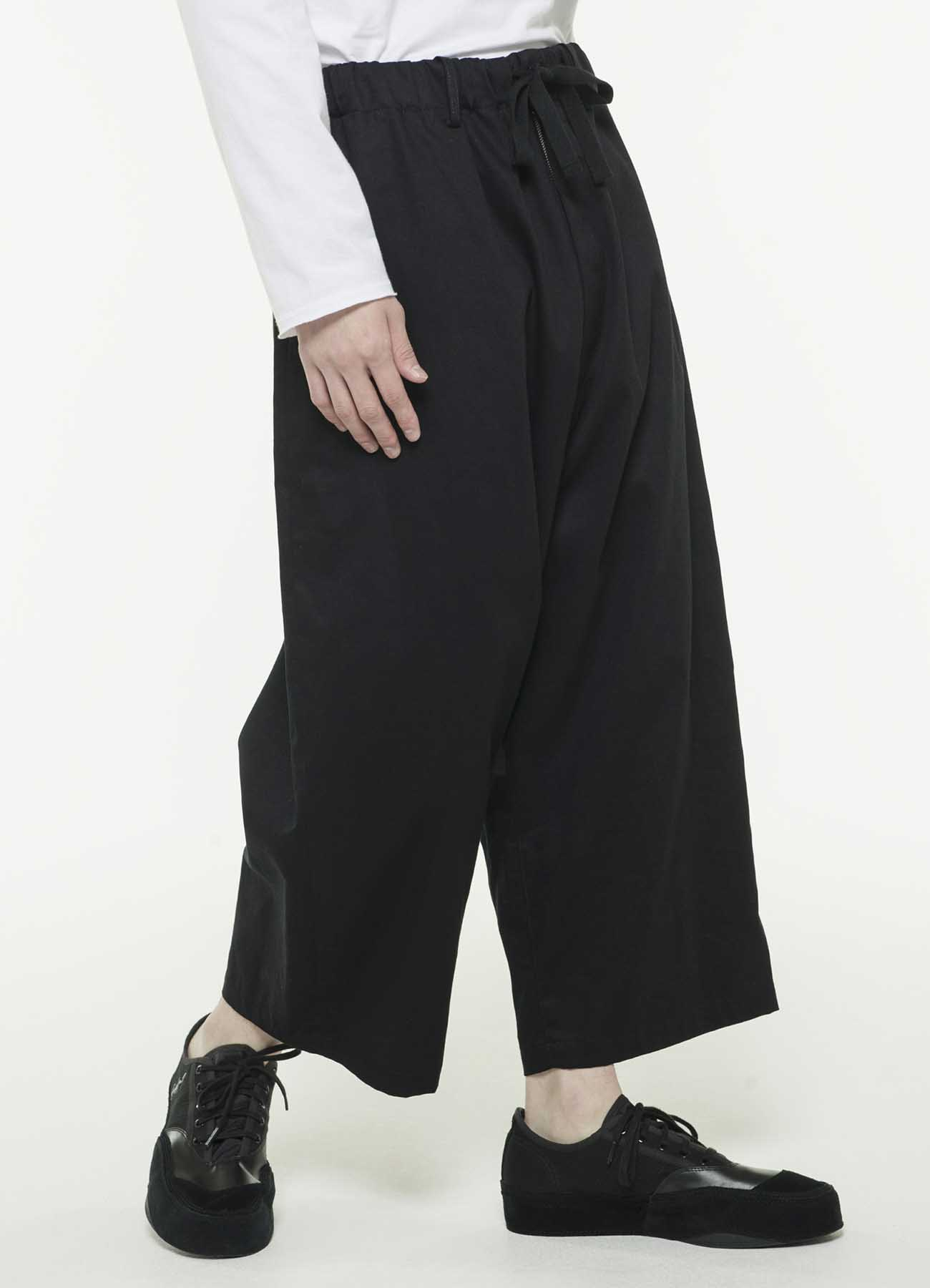 20/Cotton NoTack SideTape Cropped Wide Pants