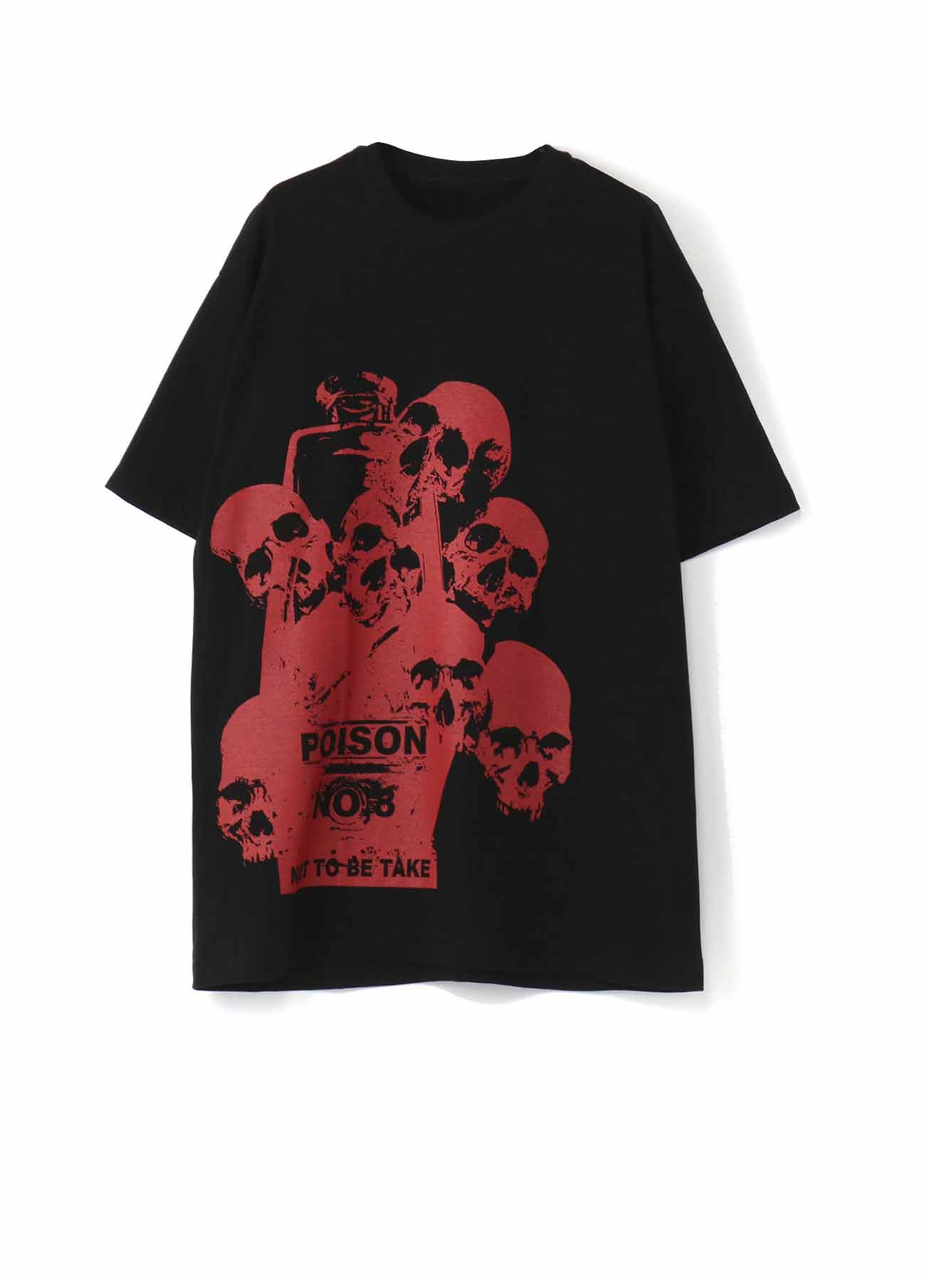 20/CottonJersey Poison Red No8 T-shirt