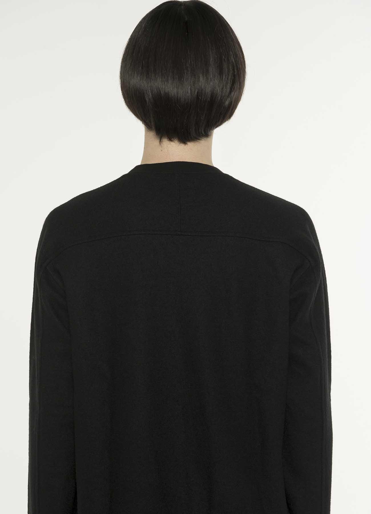 压缩羊毛足球褶边圆形套衫