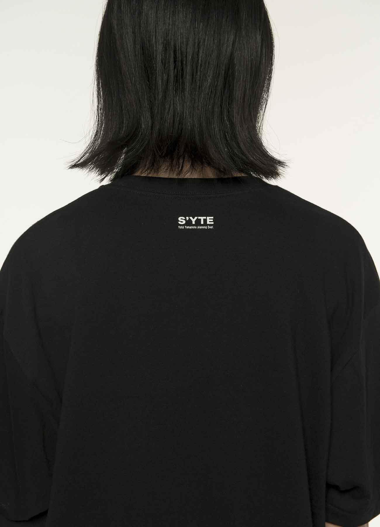 20 / 纯棉针织 S'YTE GiRLS和猫着色T恤