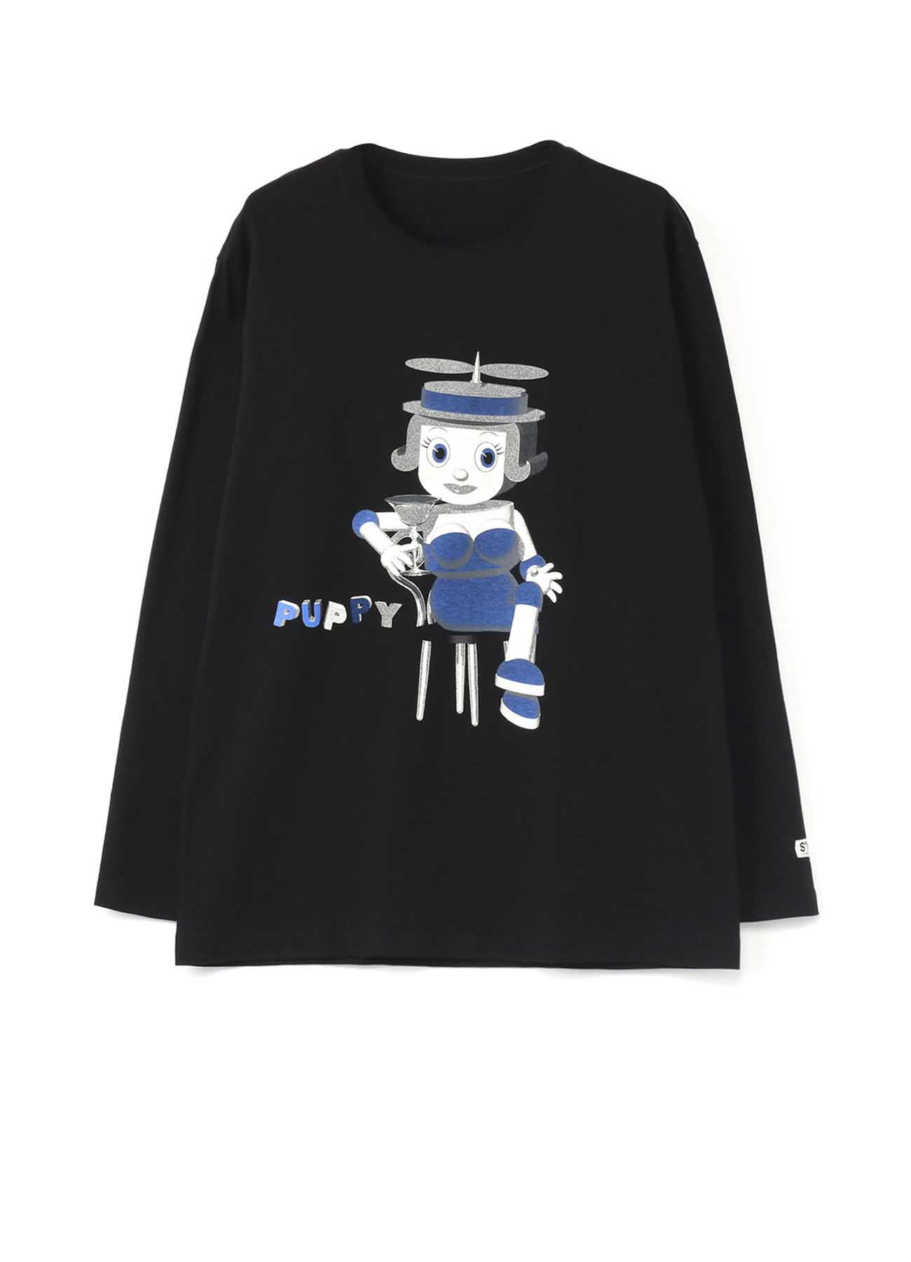 20/CottonJersey Cocktail Puppy Long Sleeve T-Shirt