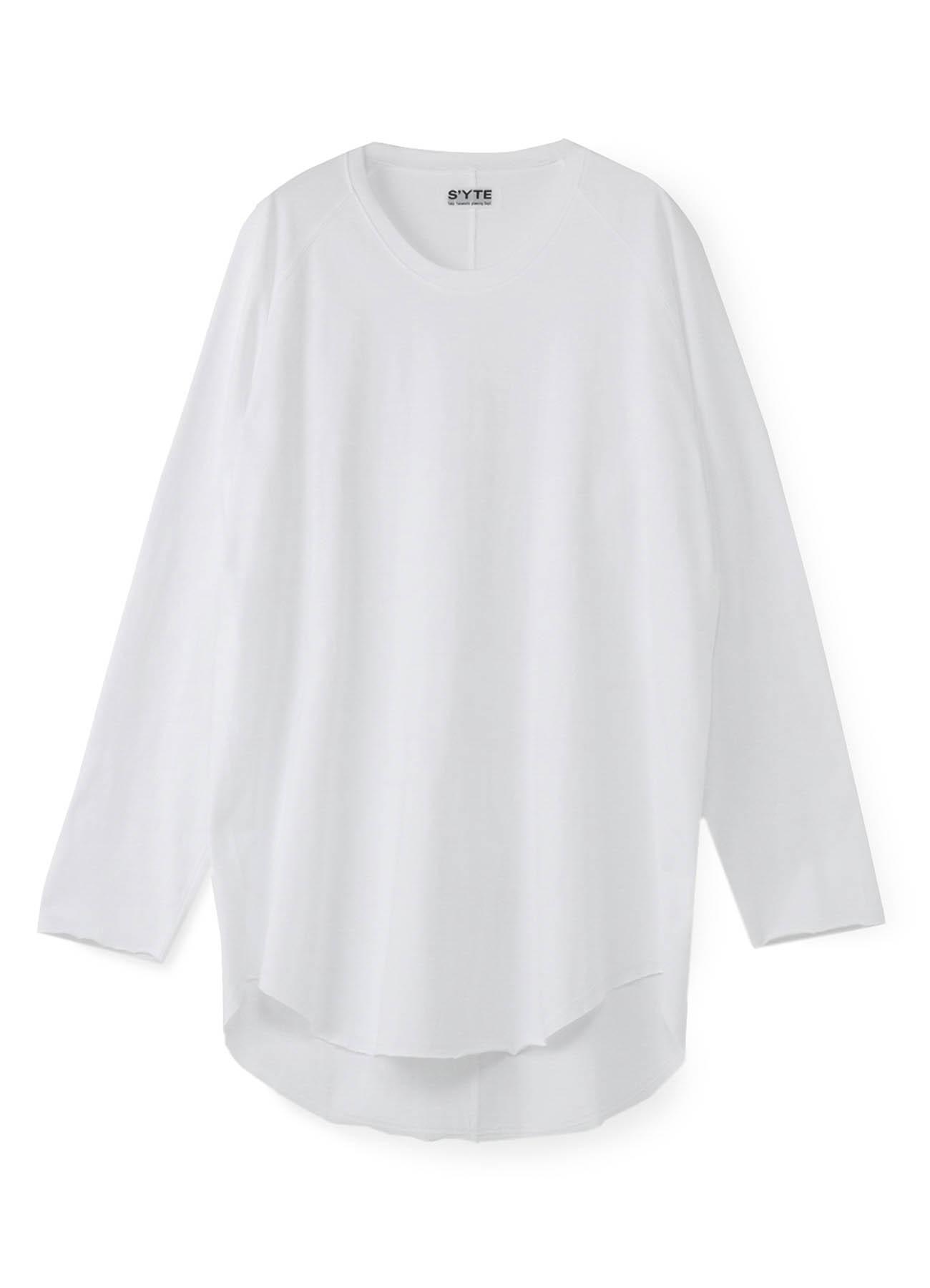 圆领插肩T恤衫
