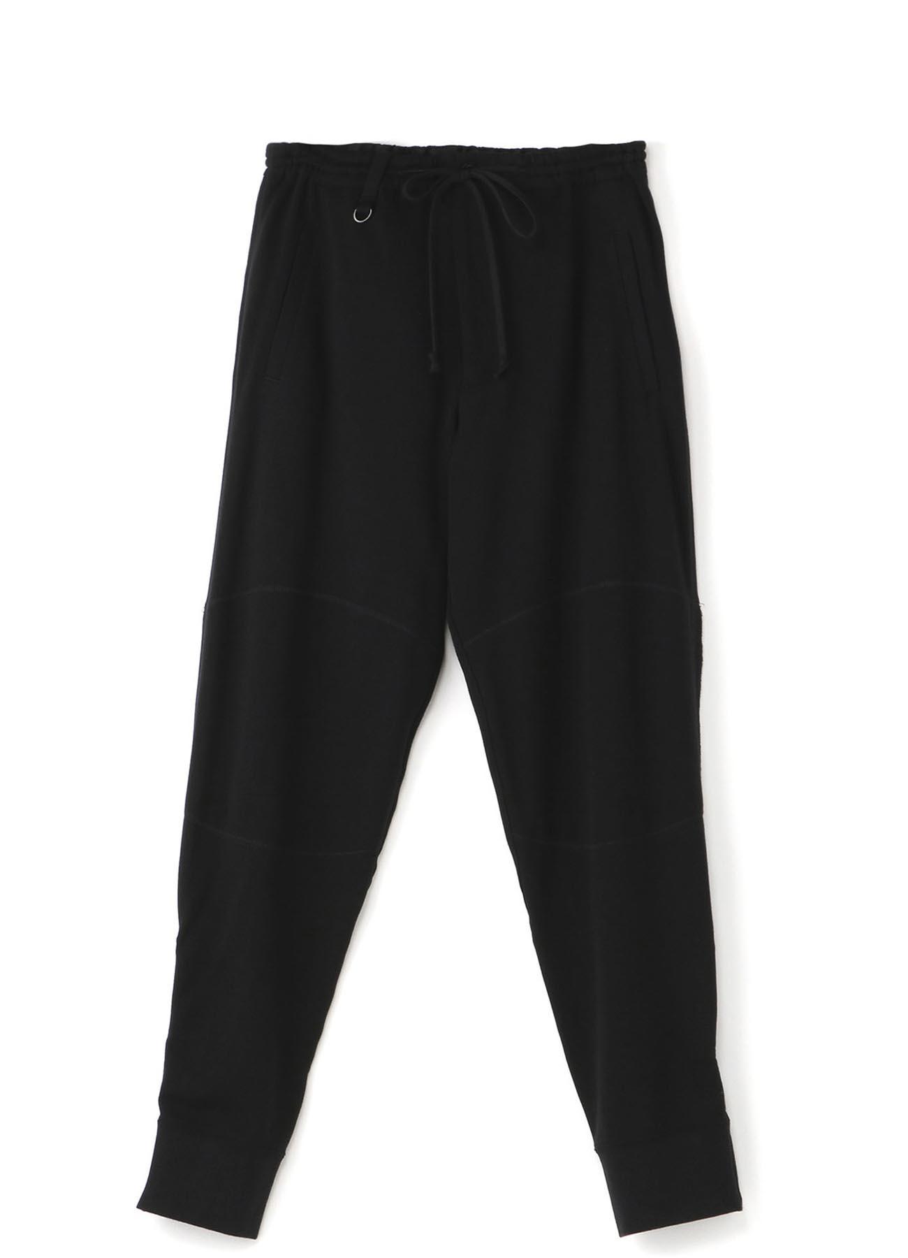 40/20 Fleecy stitch Hem zip pants