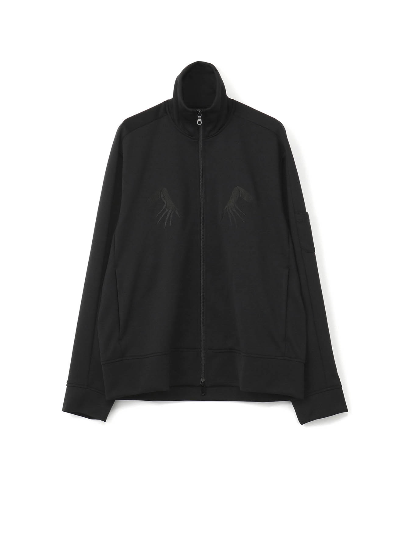 Pe/Smooth Jersey The Hands of The Ghost Embroidery Track Jacket