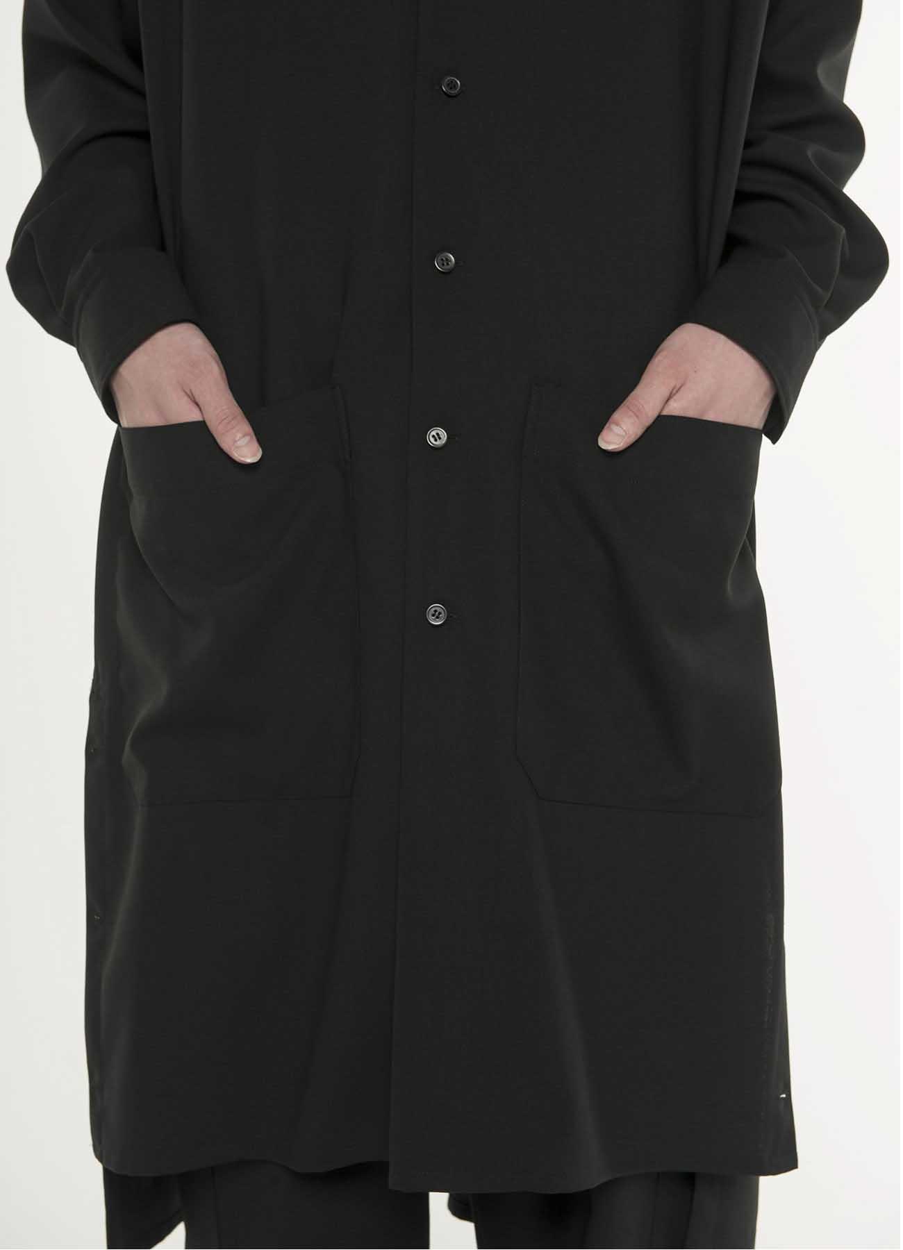 Wool 1/72 cloth Long shirt
