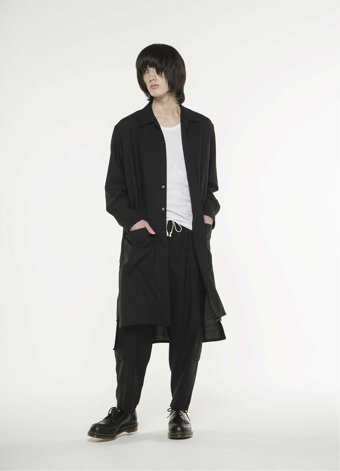 Wool 1/72 cloth Long shirt