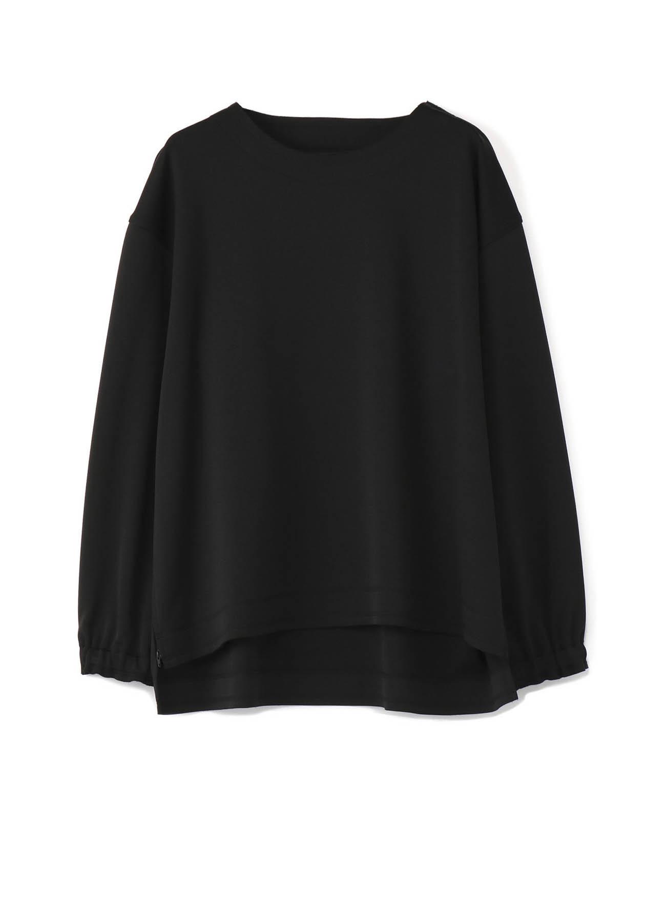 Smooth Jersey Side Slit Pullover
