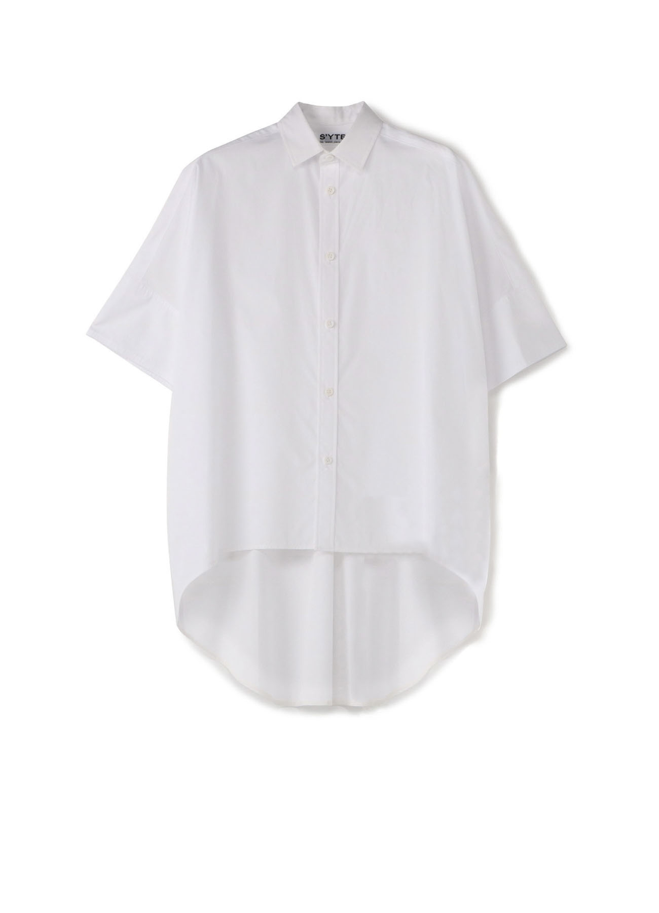 100/2 Broad Round Hem Overshirt
