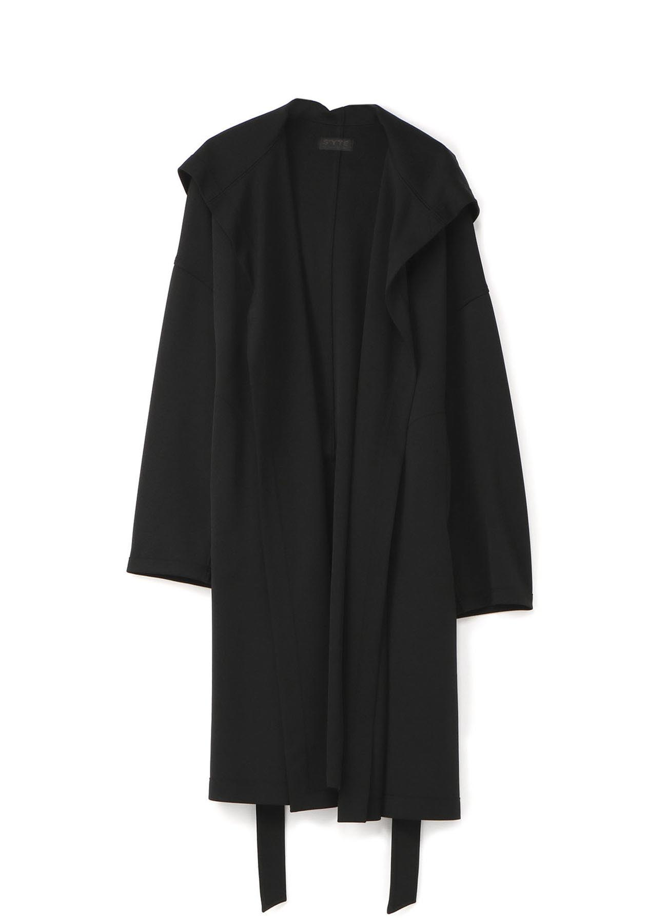 Smooth Jersey Belt Robe Coat