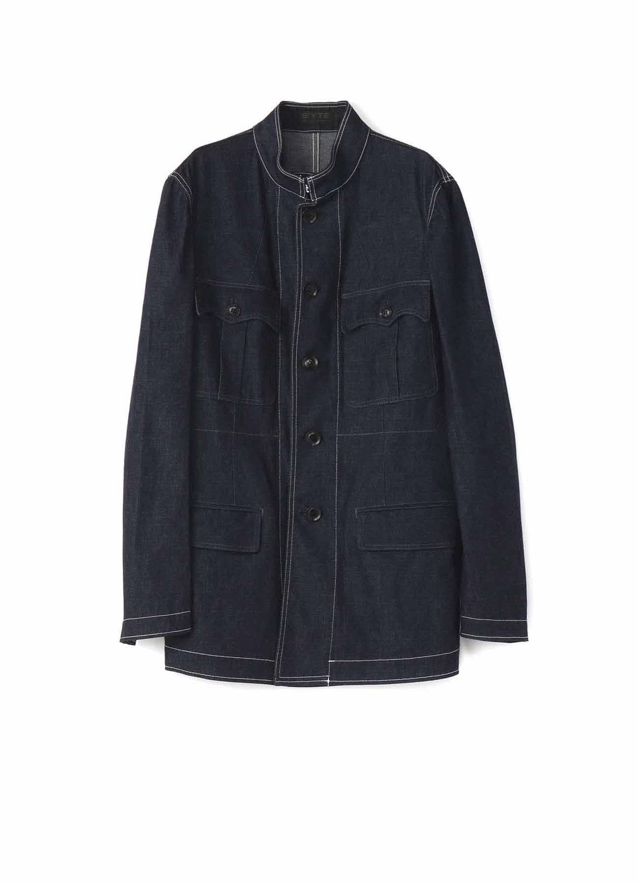 8oz Denim Military Jacket