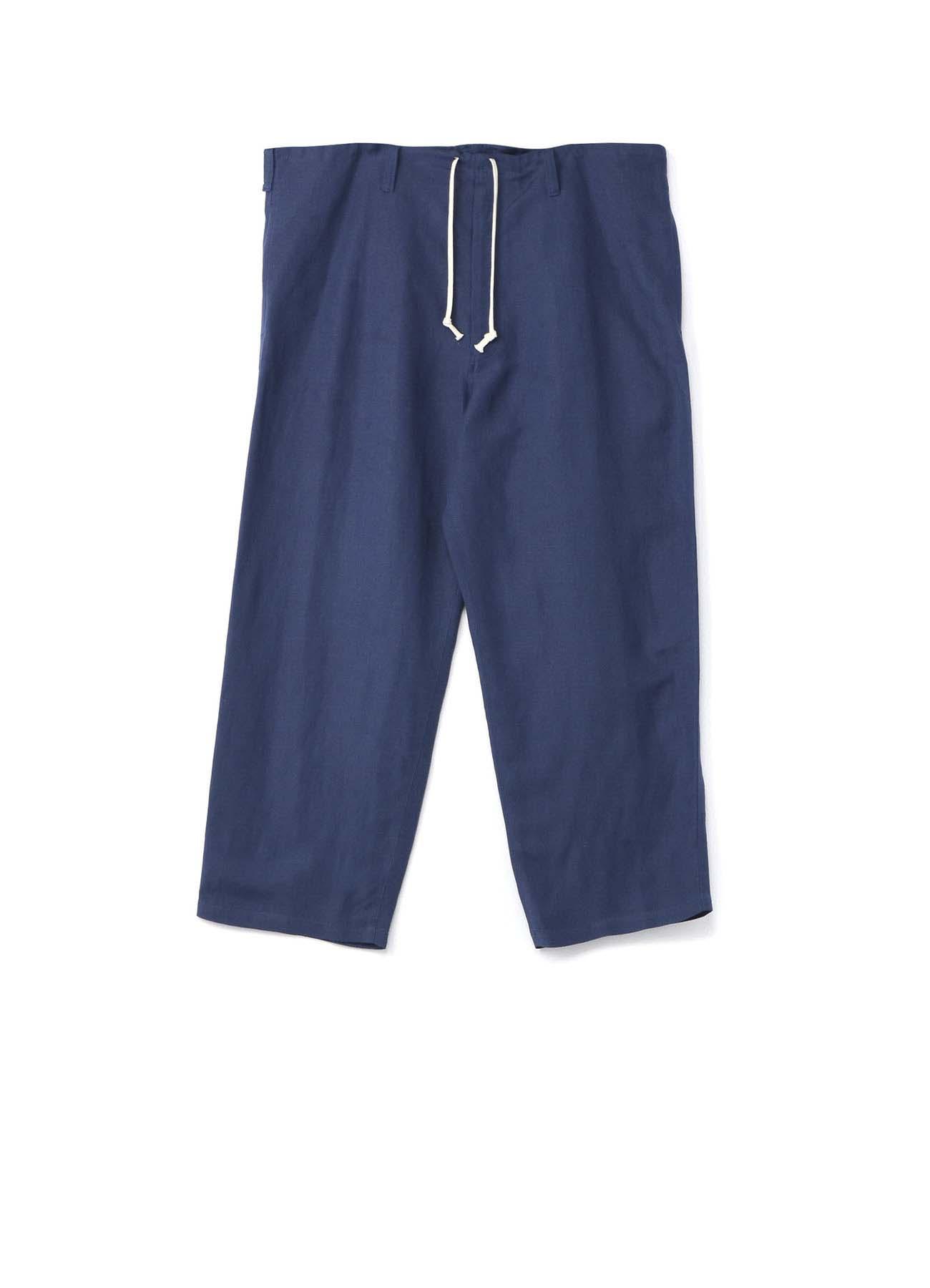 Rayon Linen Easy Cross West Cord Pants
