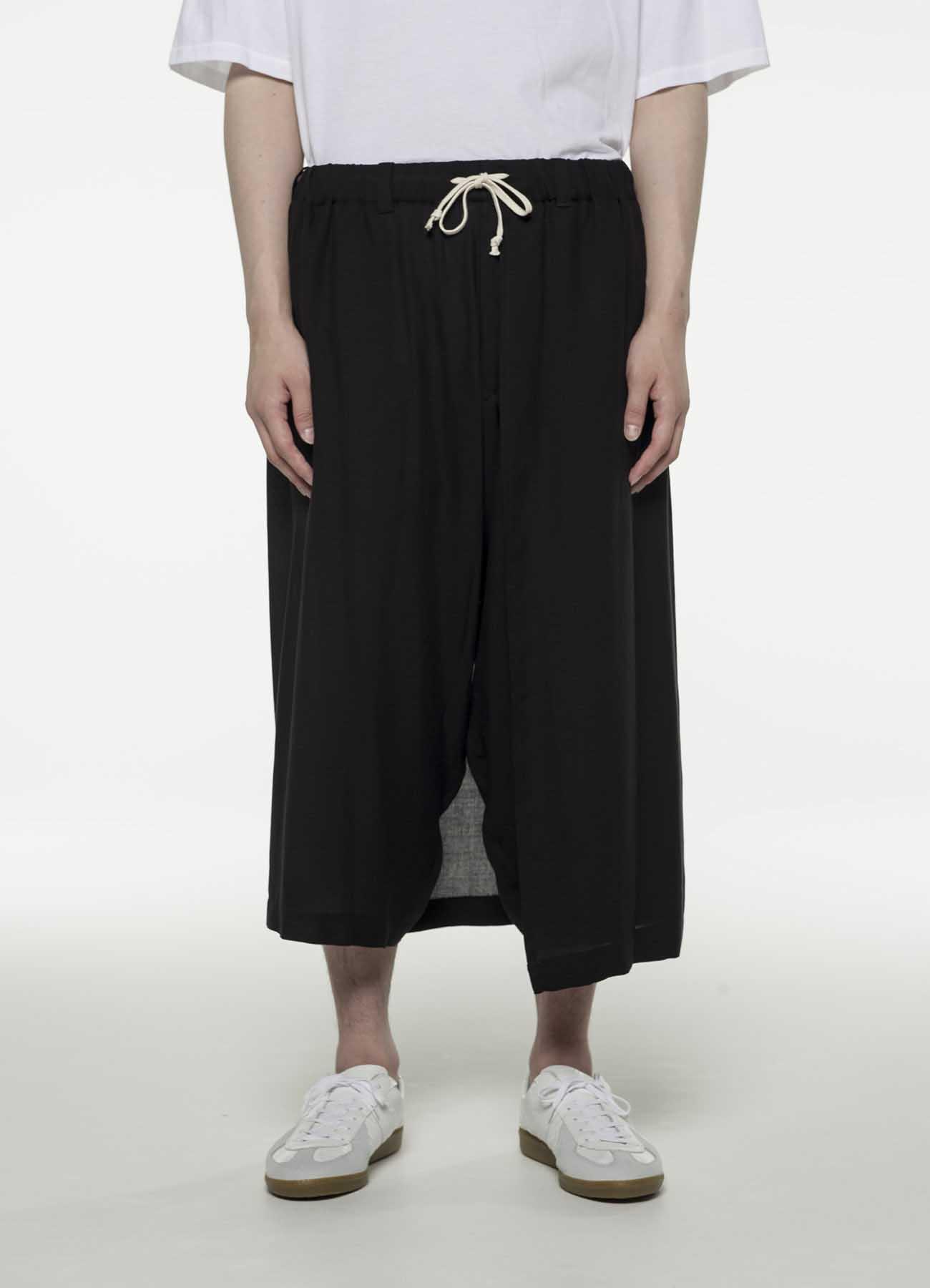 天丝维也勒左层七分裤