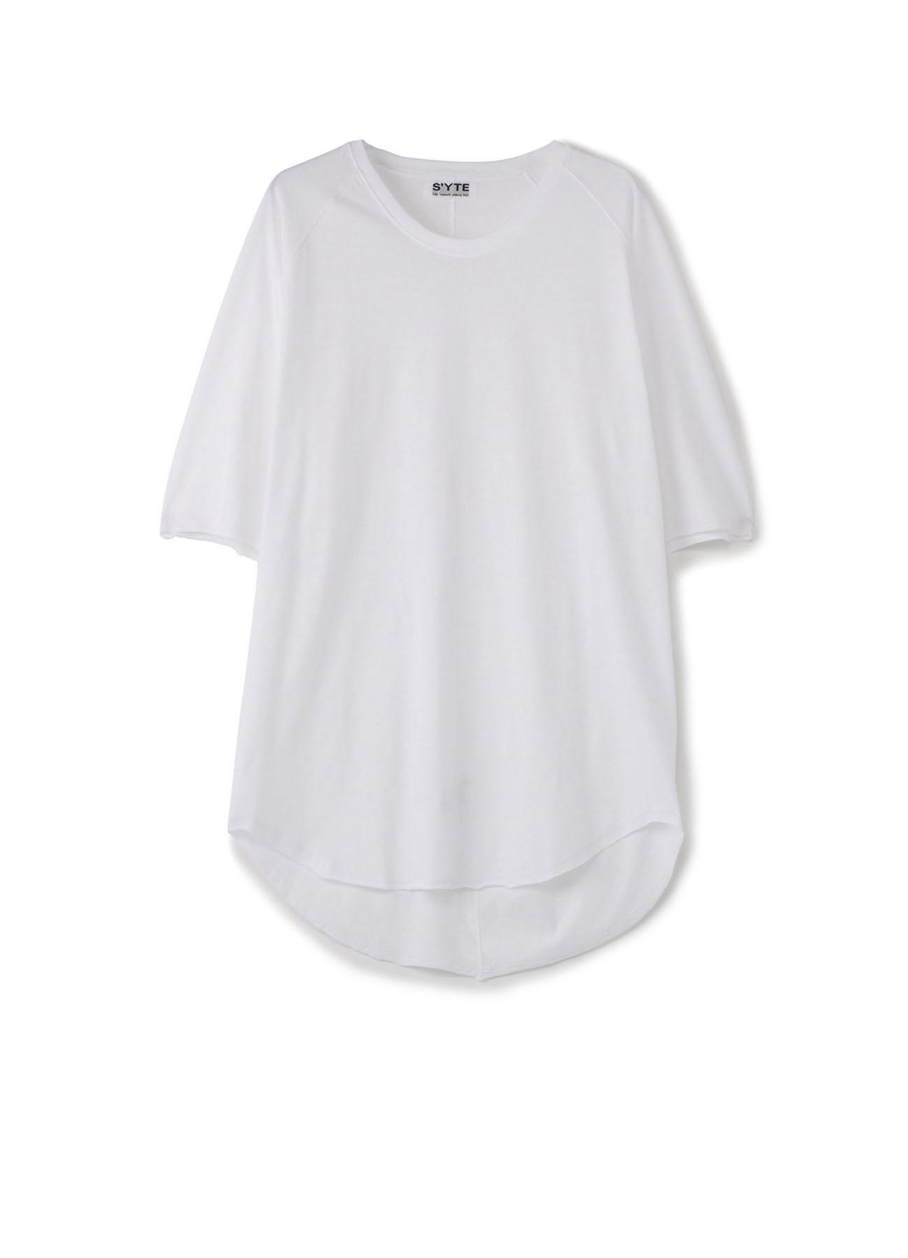 30/2 细平纹常规大圆领T恤