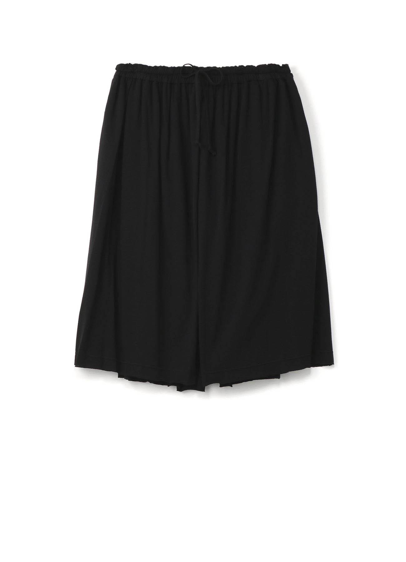 混纺层叠裤裙