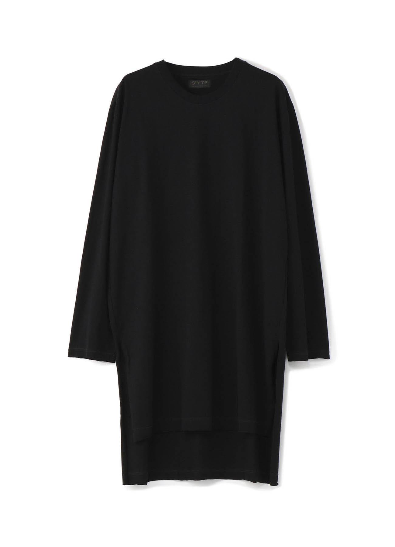 40/2Cotton Jersey Setin Long Sleeve T