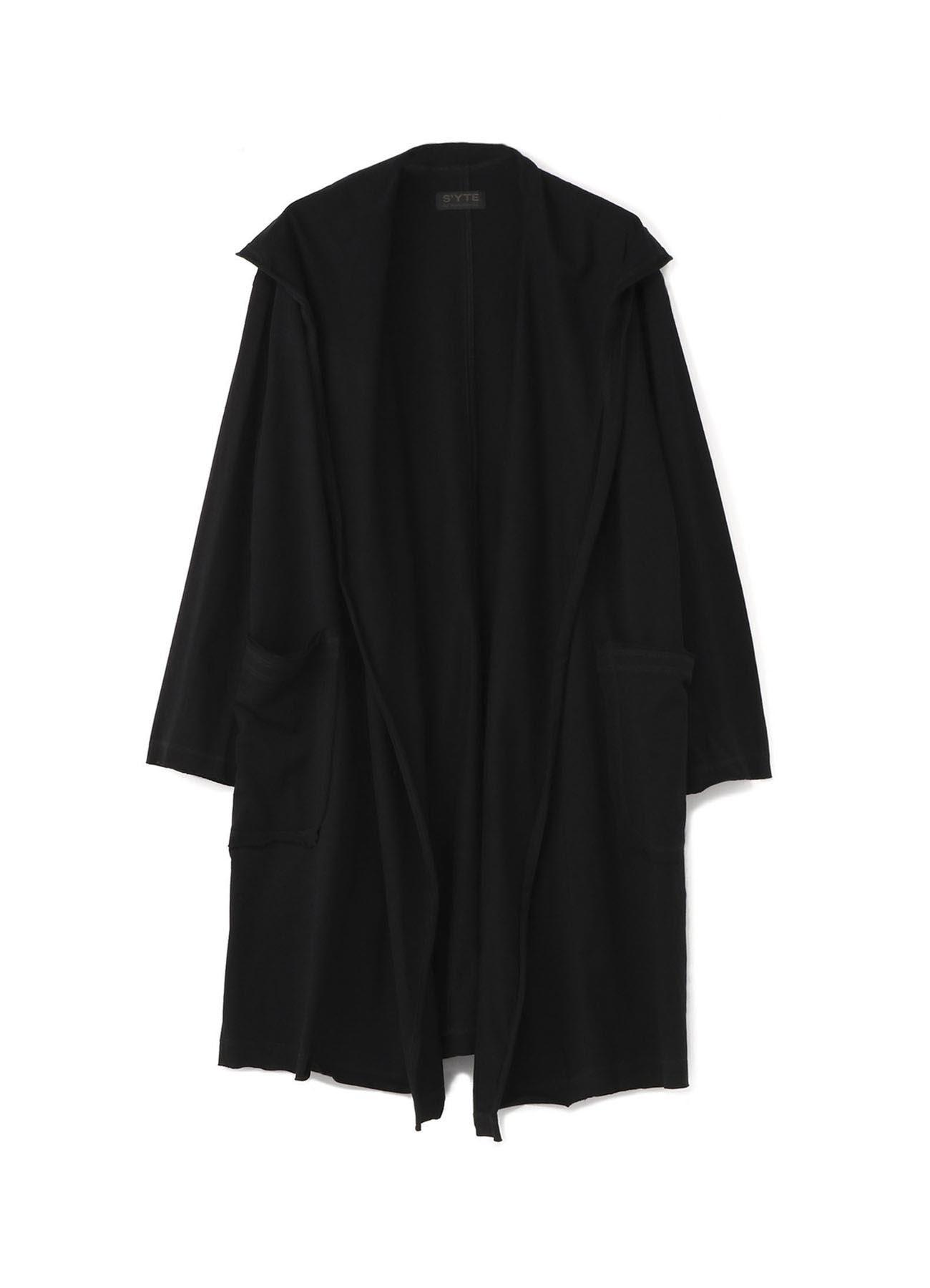 40/2纯棉平纹针织披肩外套