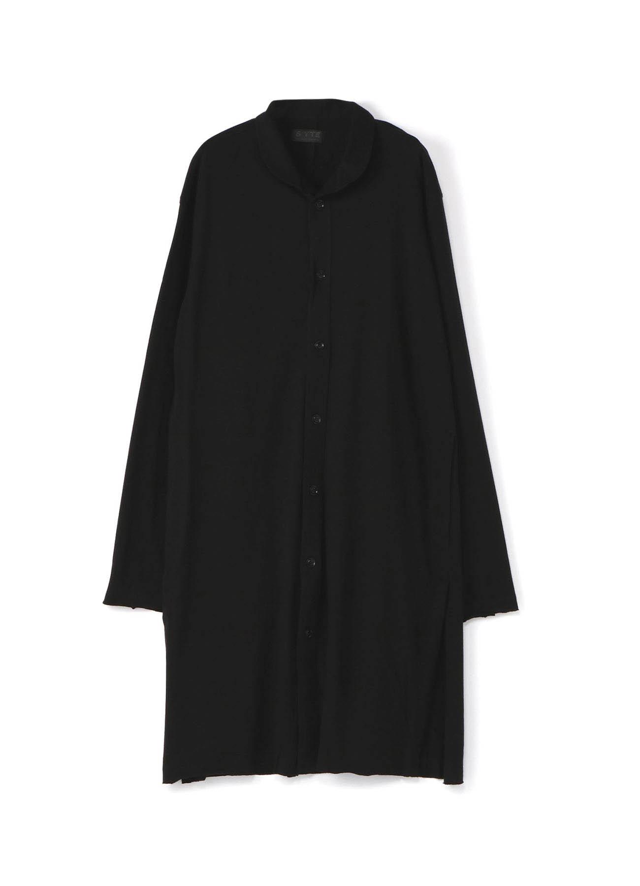 30/2 Jersey Layer shawl collar long cardigan