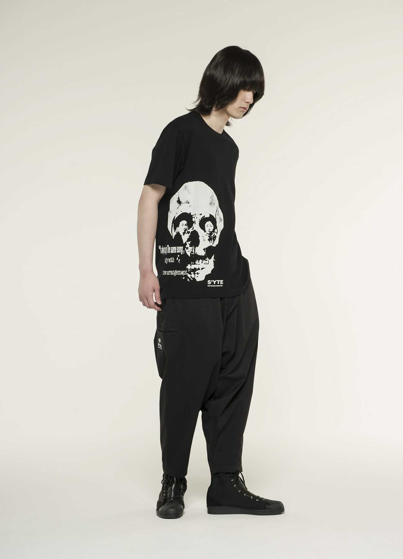 20/CottonJersey Skull of the Eye T-shirt
